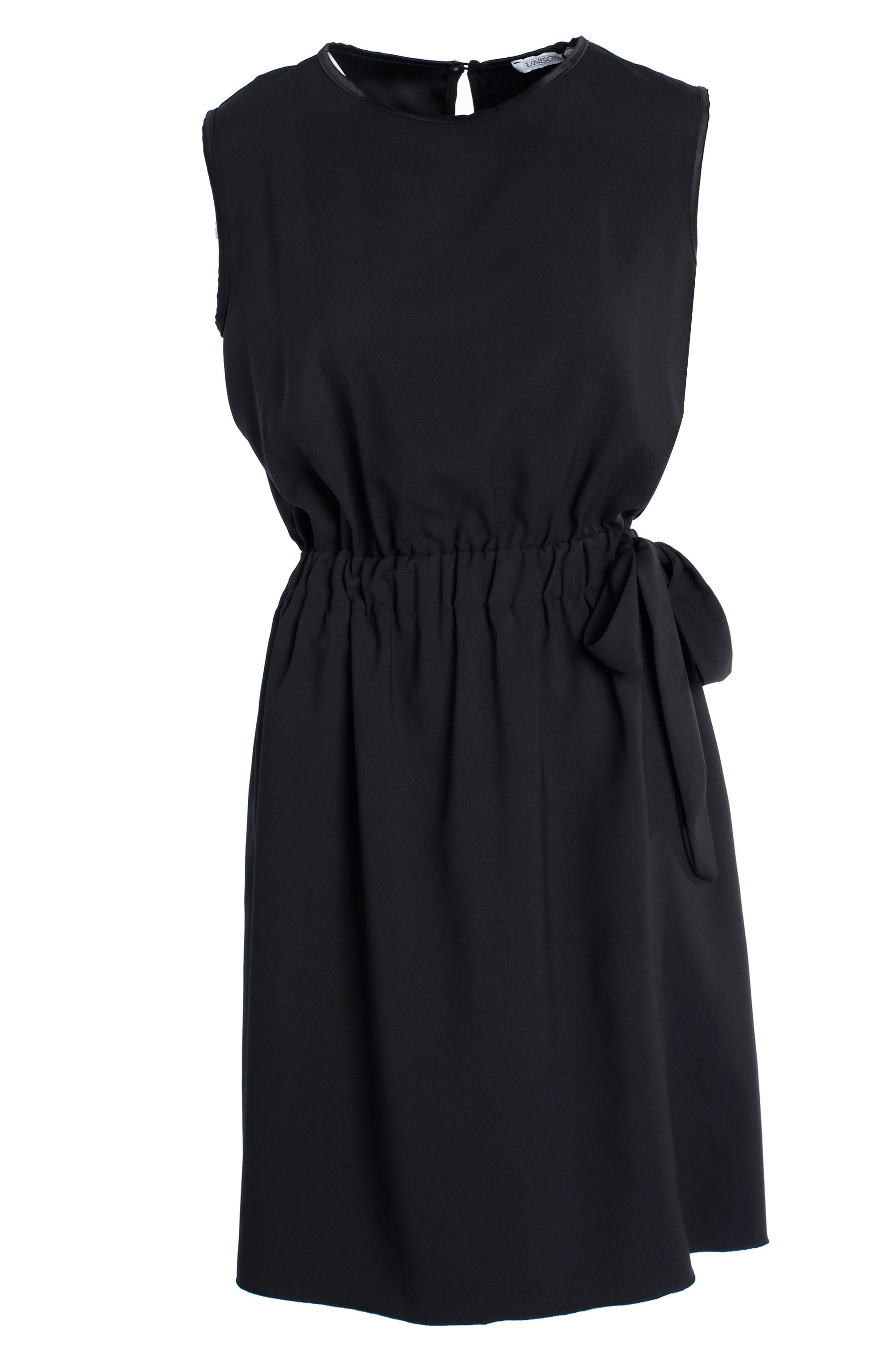 Sukienka - 102-565 NERO - Unisono