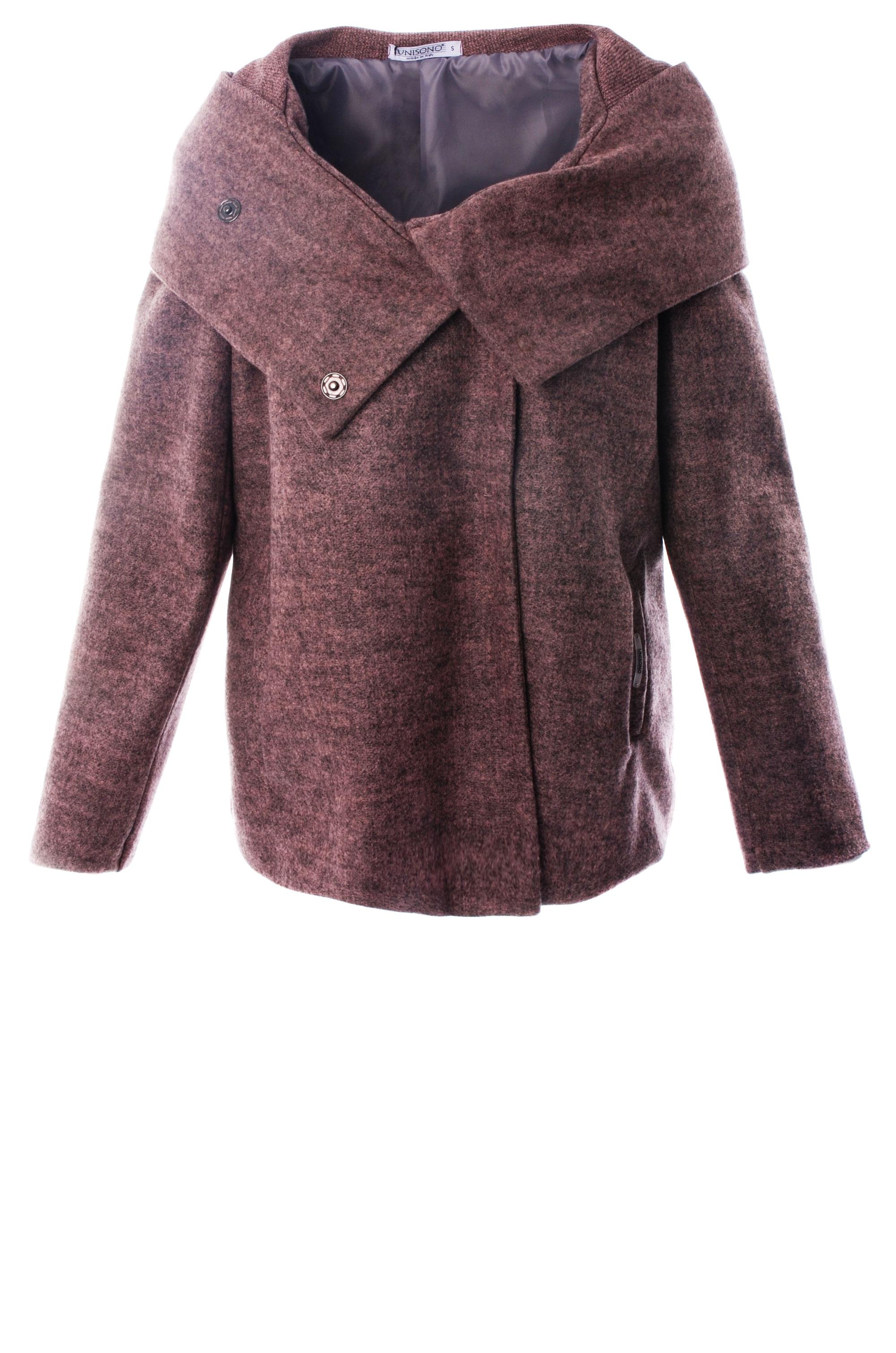 Płaszcz materiałowy - 34-3702 ROSA - Unisono