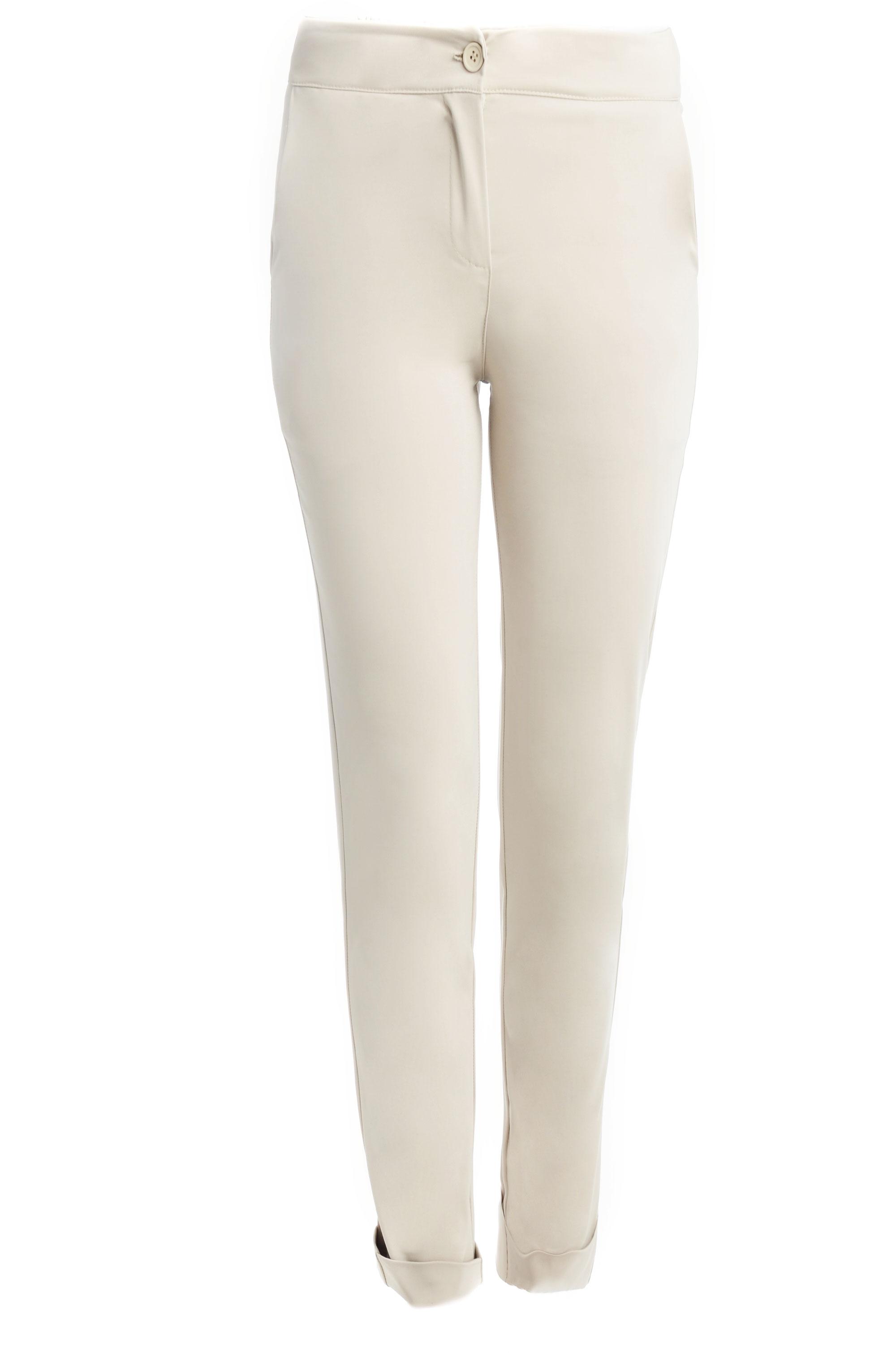 Spodnie - 16-J360 BEIGE - Unisono