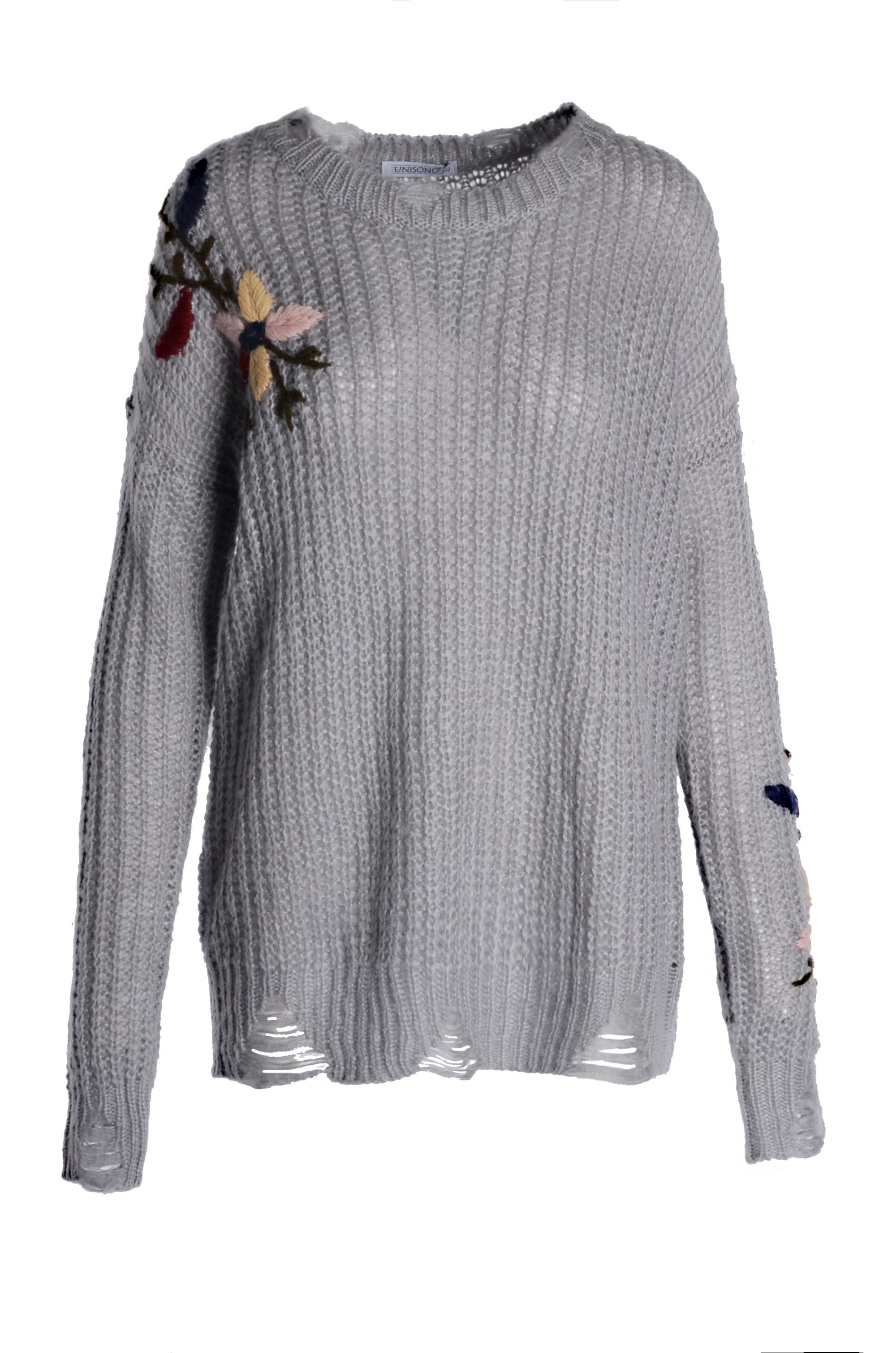 Sweter - 15-60014 GRIG - Unisono