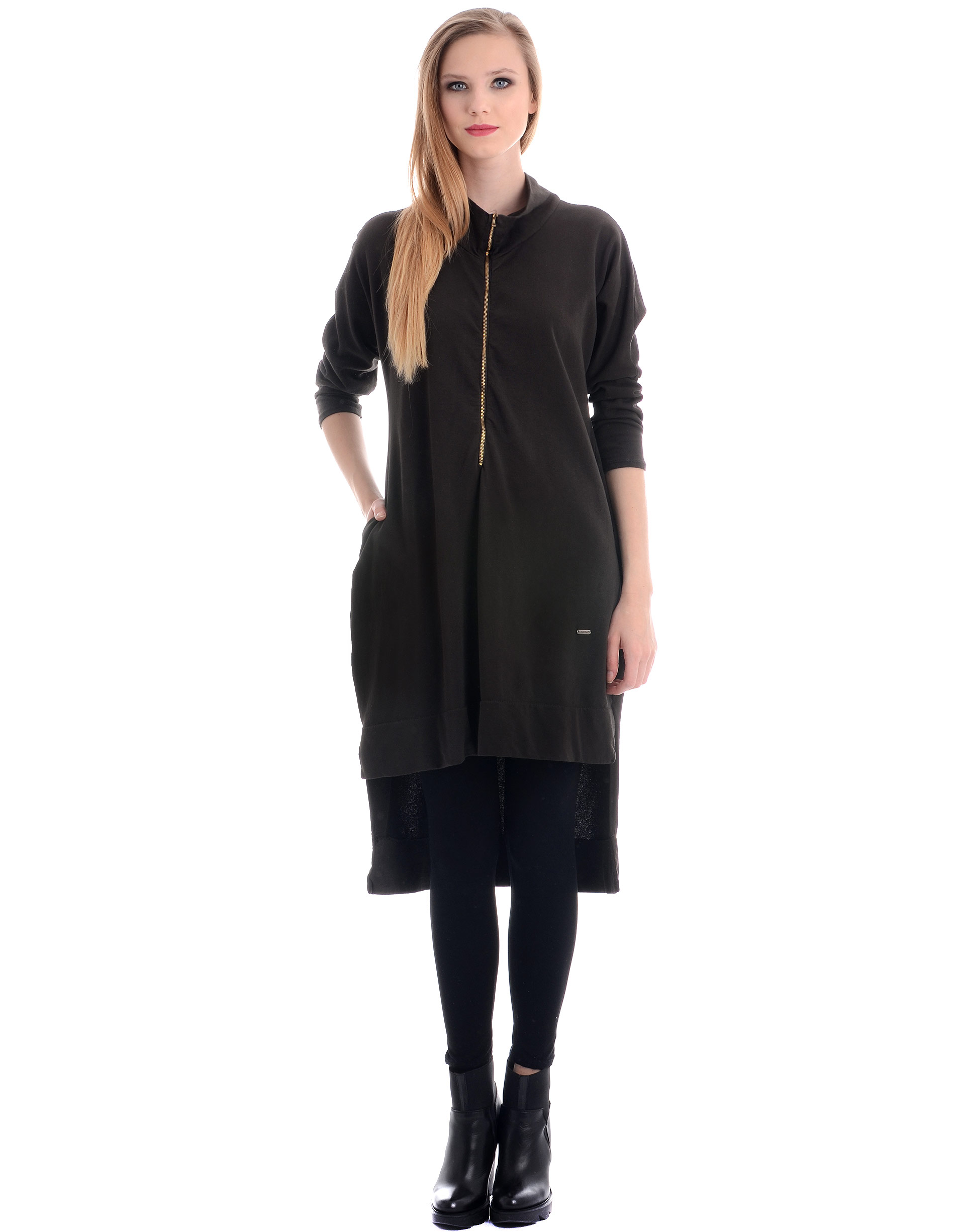 Sukienka - 34-I1080 MORO - Unisono