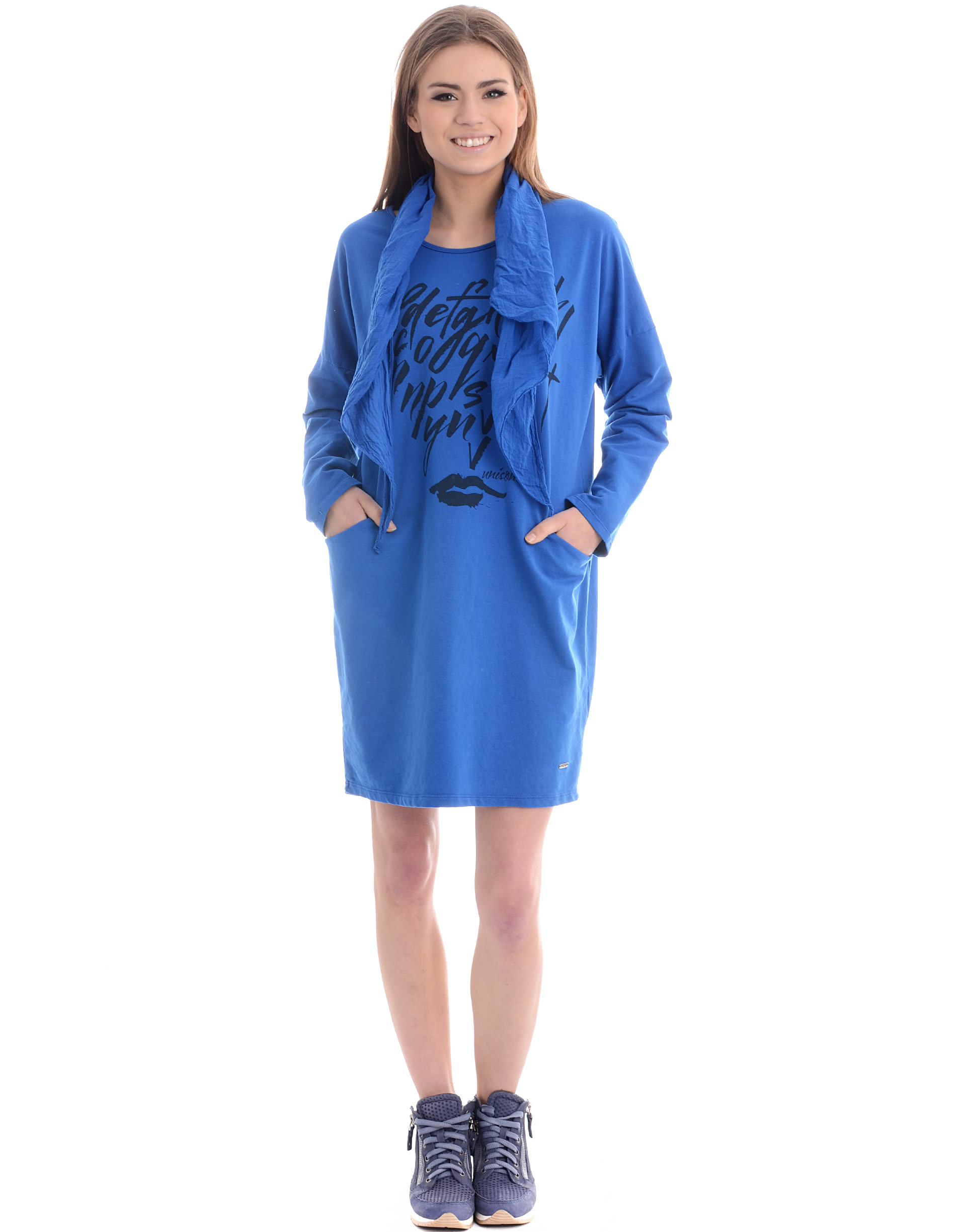 Sukienka - 18-15873A BCI - Unisono