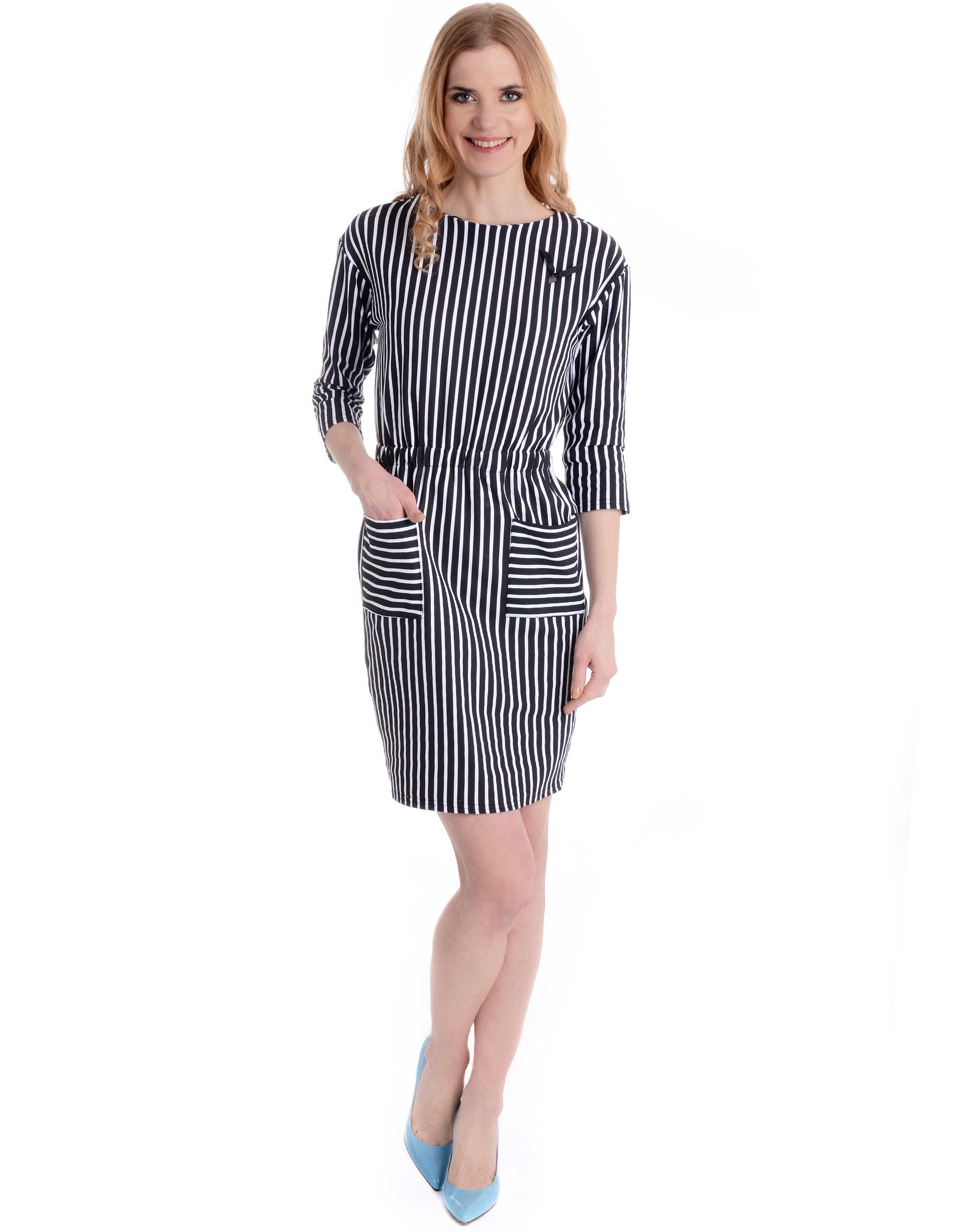 Sukienka - 90-6575 BI-NE - Unisono