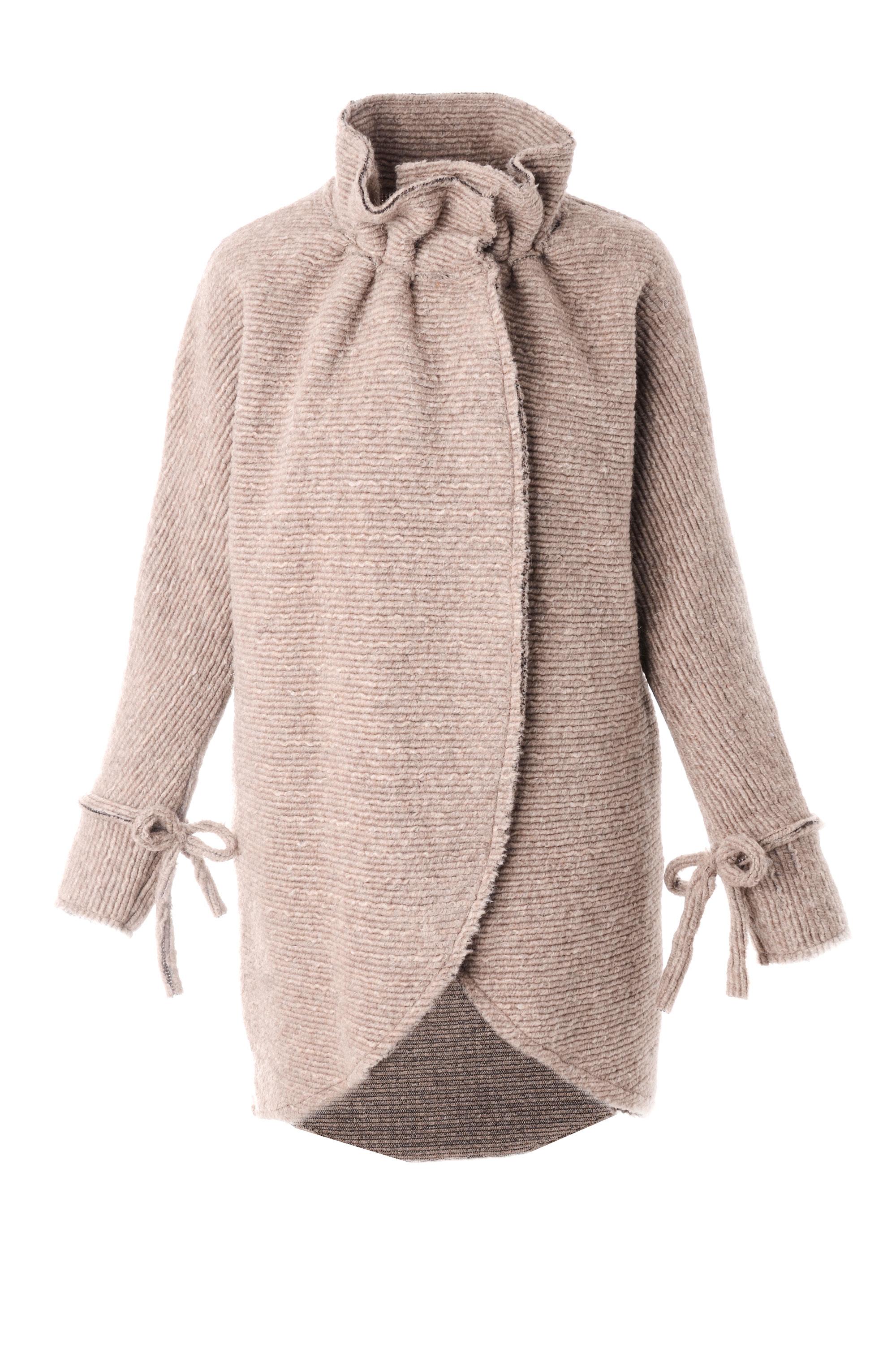 Płaszcz materiałowy - 138-00004 BEI - Unisono