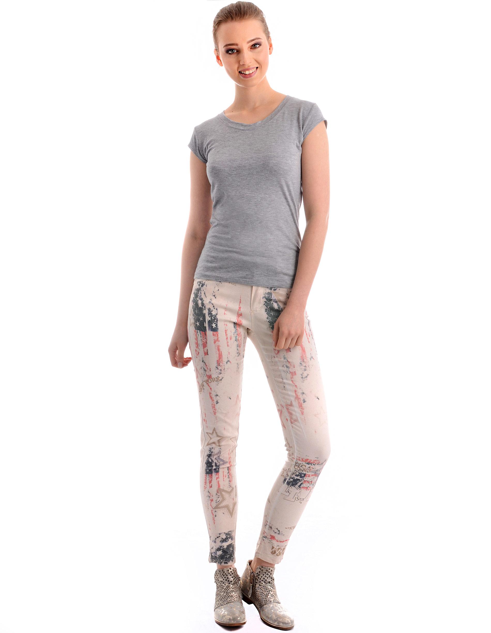 Spodnie - 77-6337 BEIGE - Unisono