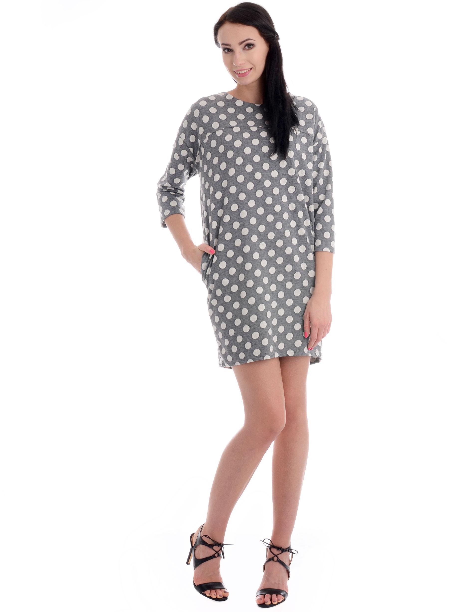 Sukienka - 90-6596 GR SC - Unisono