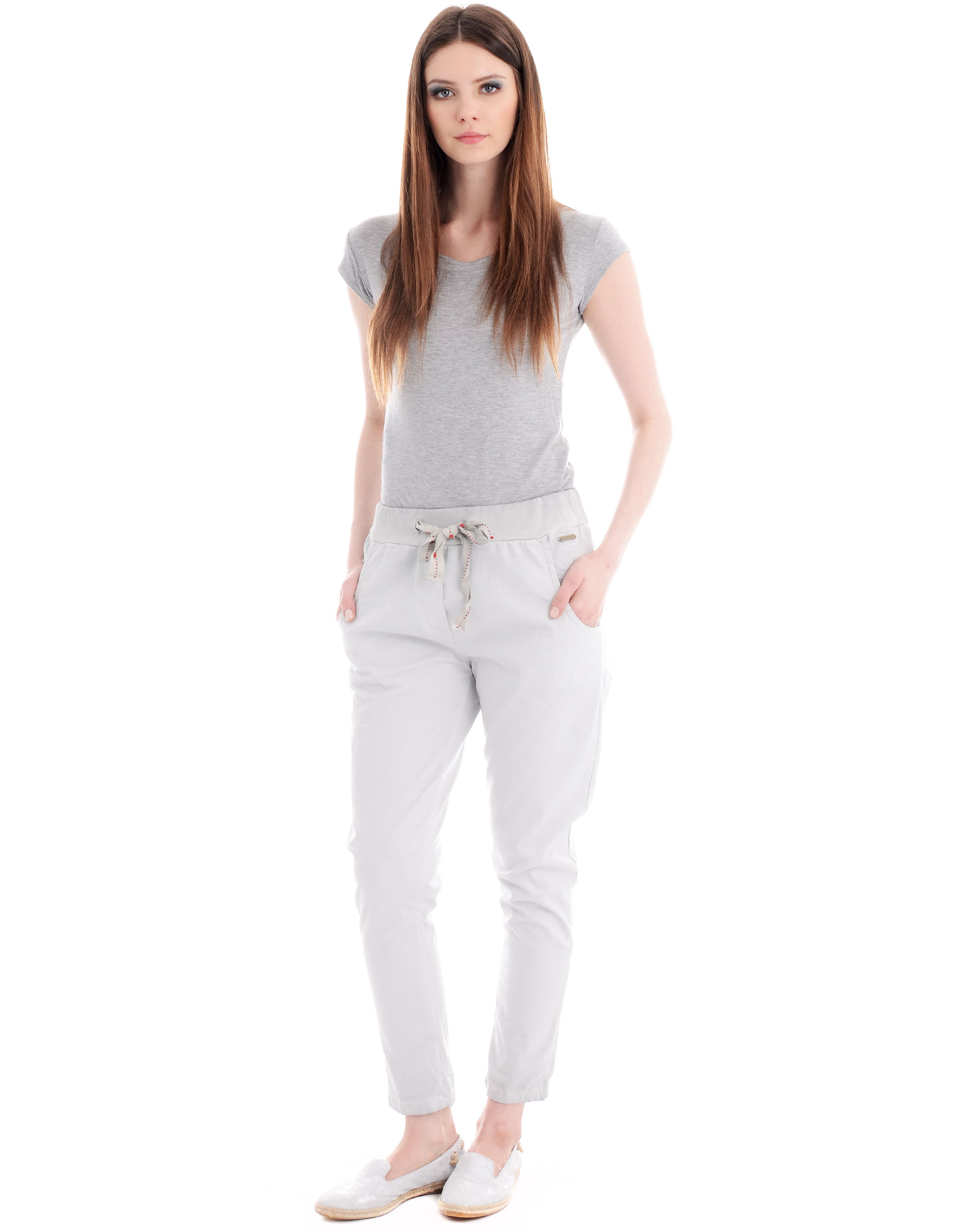 Spodnie - 104-1216A GRI - Unisono