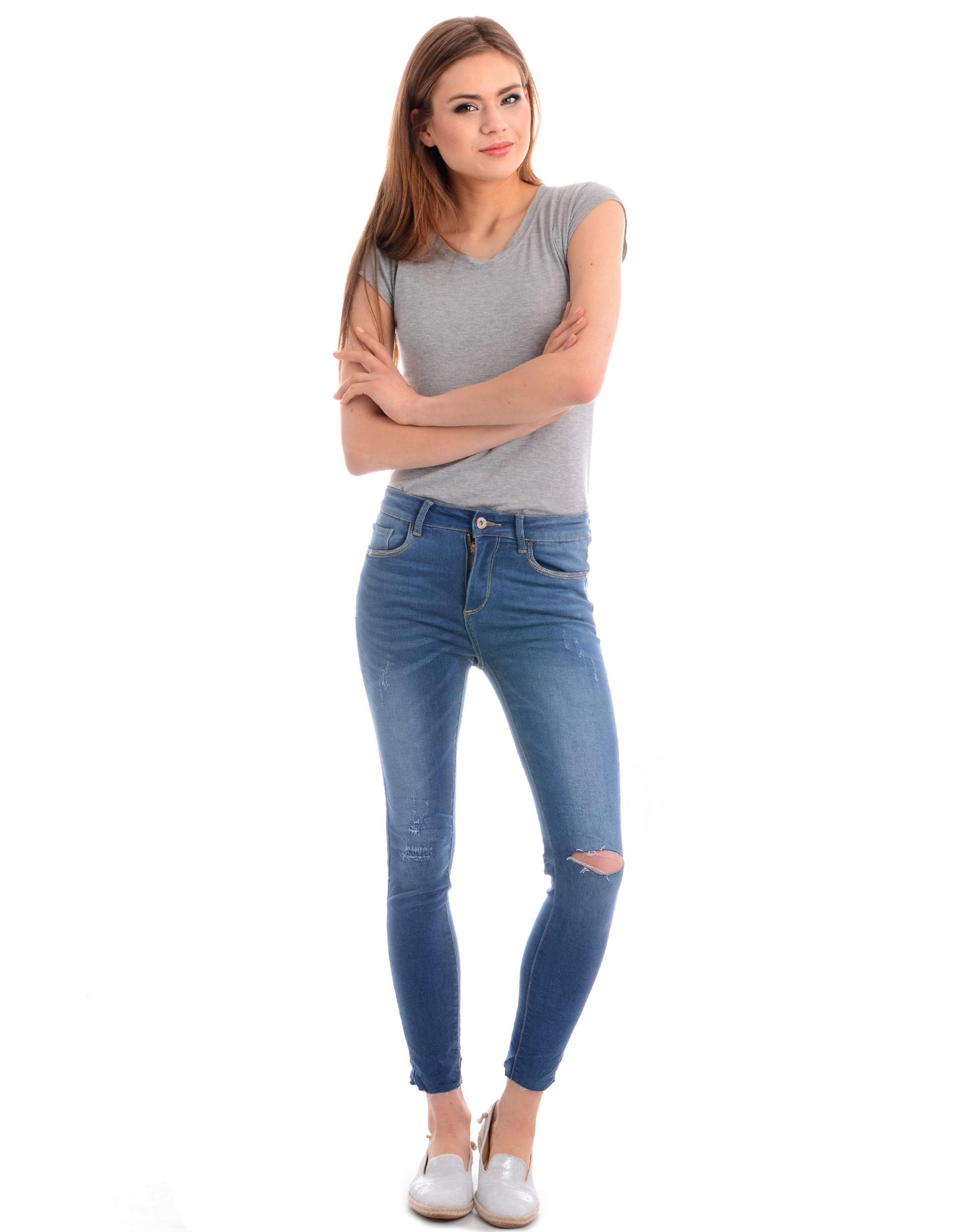 Spodnie - 105-S122 JEAN - Unisono