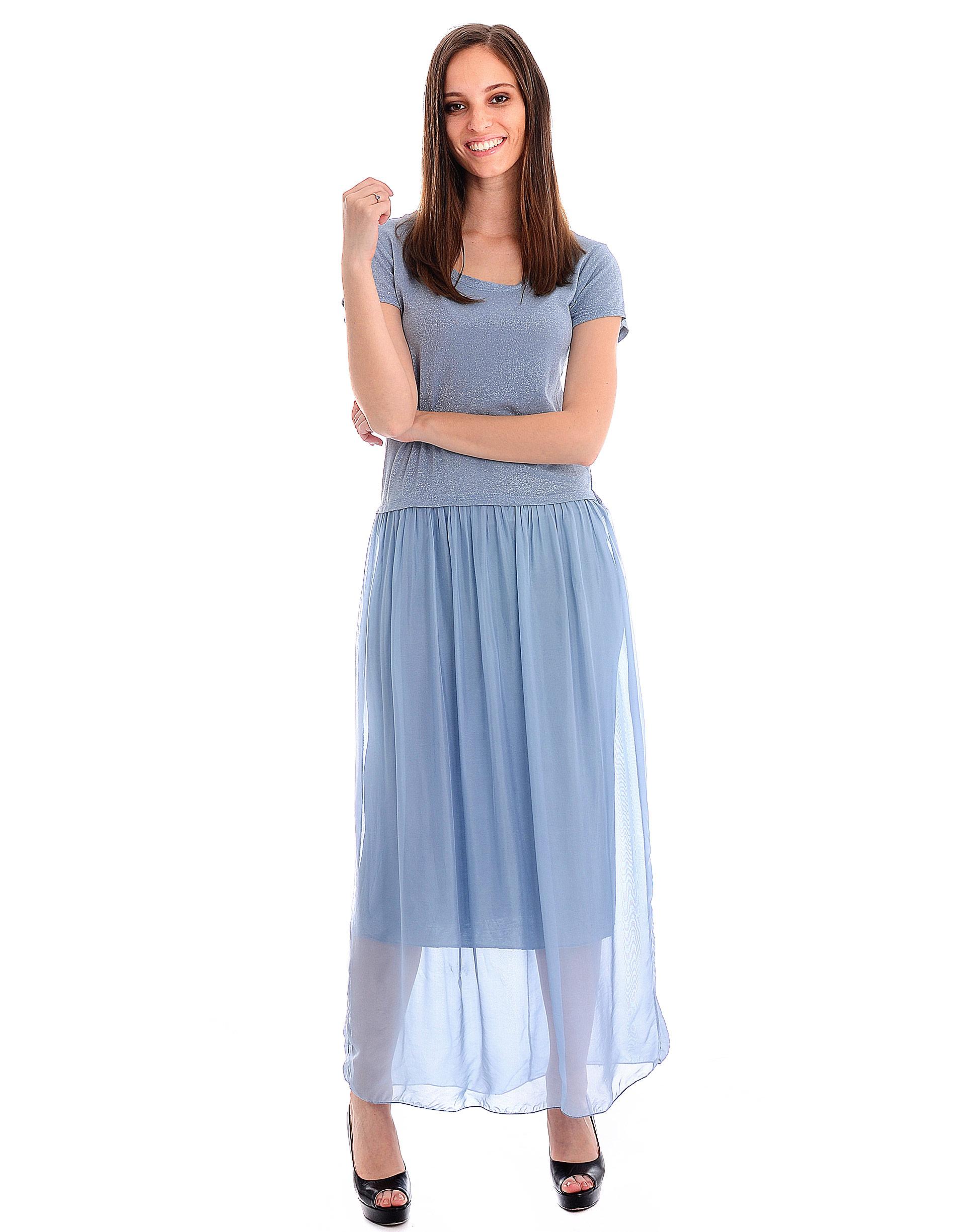 Sukienka - 31-5809 JEANS - Unisono