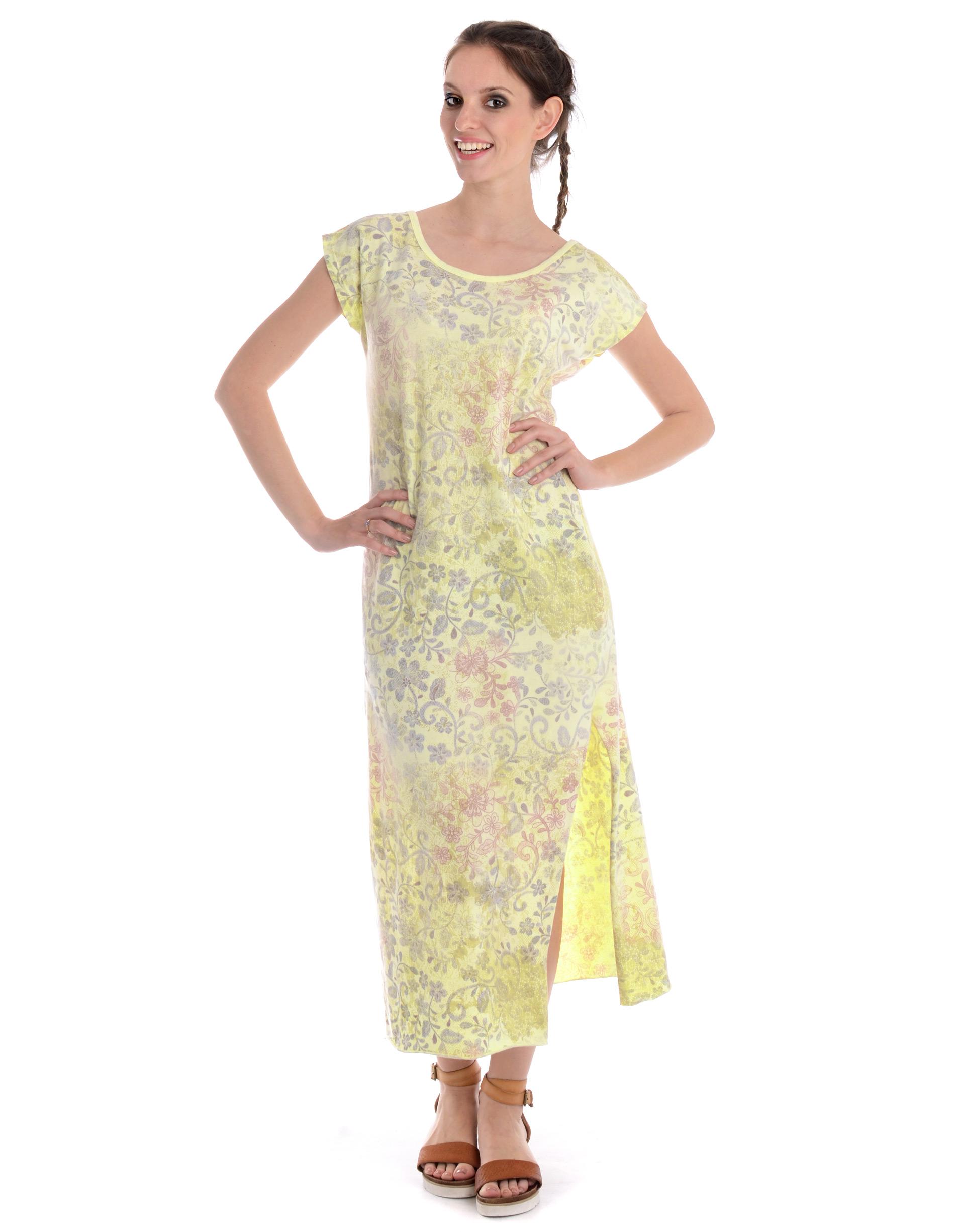 Sukienka - 18-4854 GIALL - Unisono
