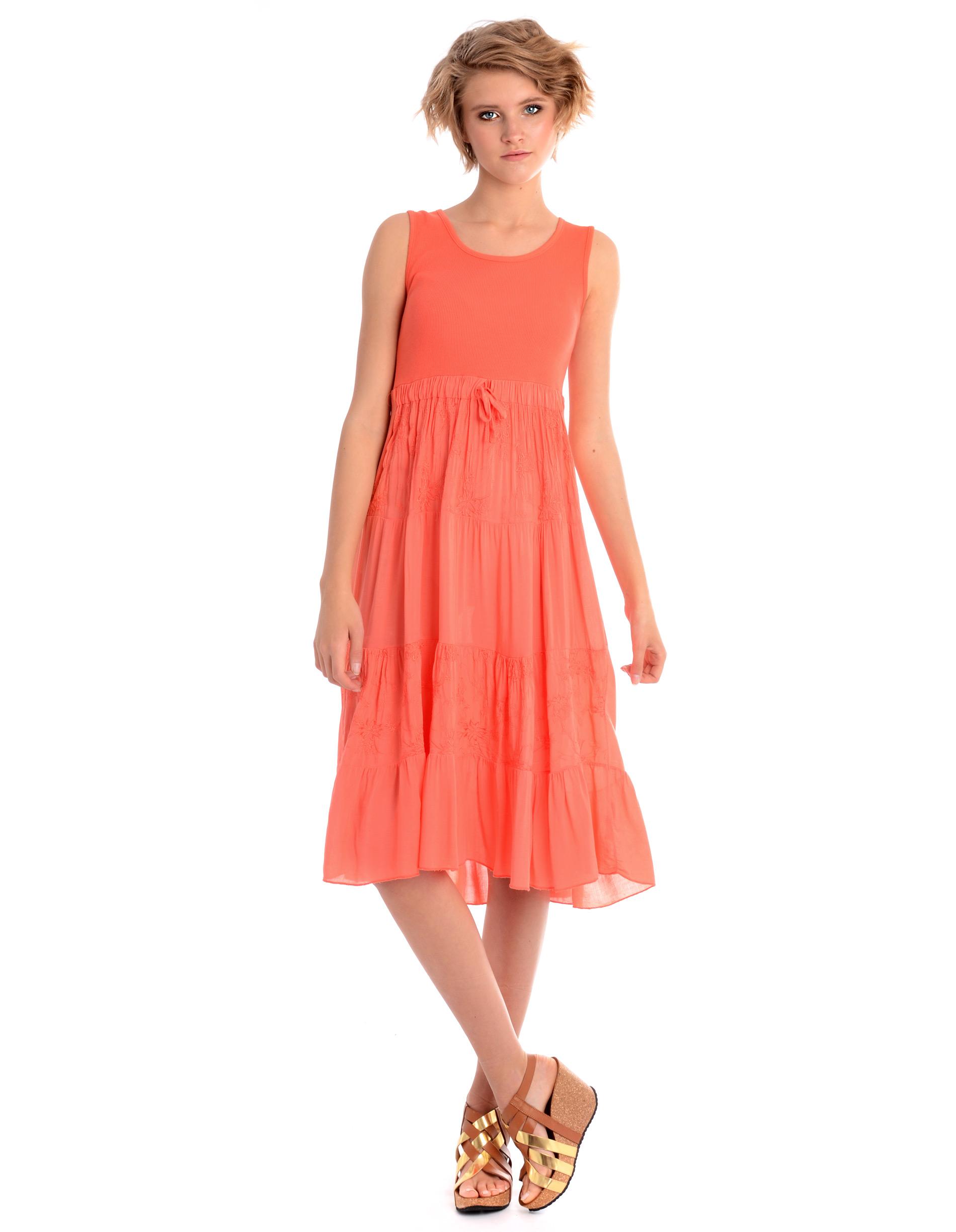 Sukienka - 36-8326 CORAL - Unisono