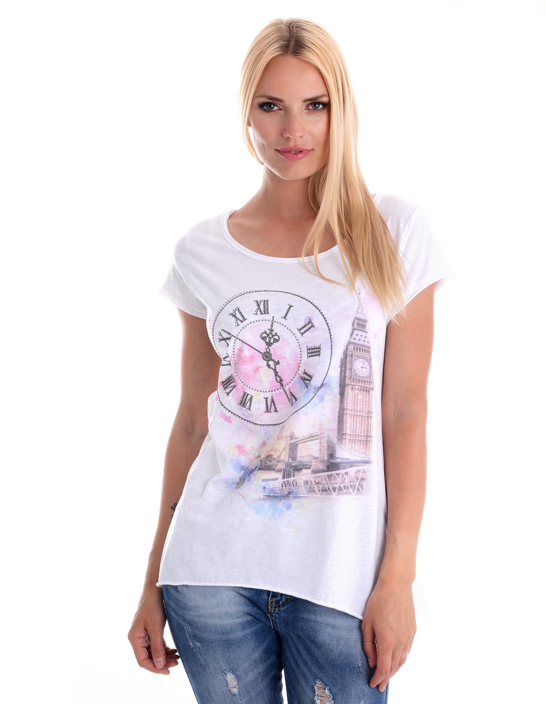 Bluzka - t-shirt - 139-16T57A BI - Unisono