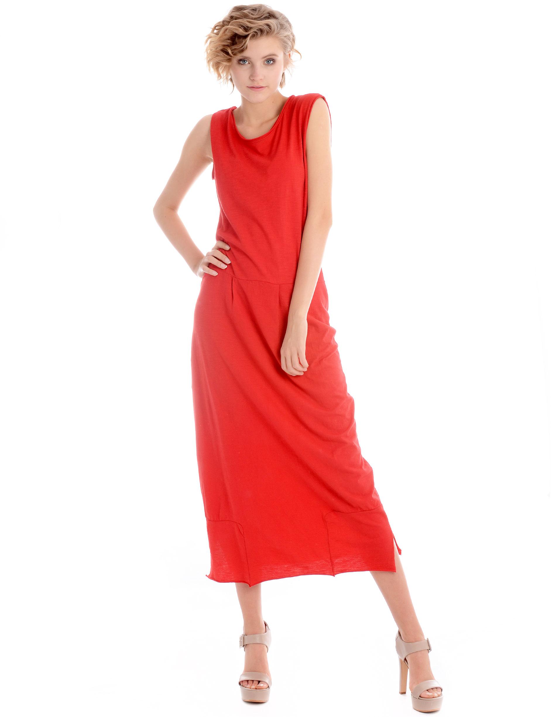 Sukienka - 118-320 ROSSO - Unisono