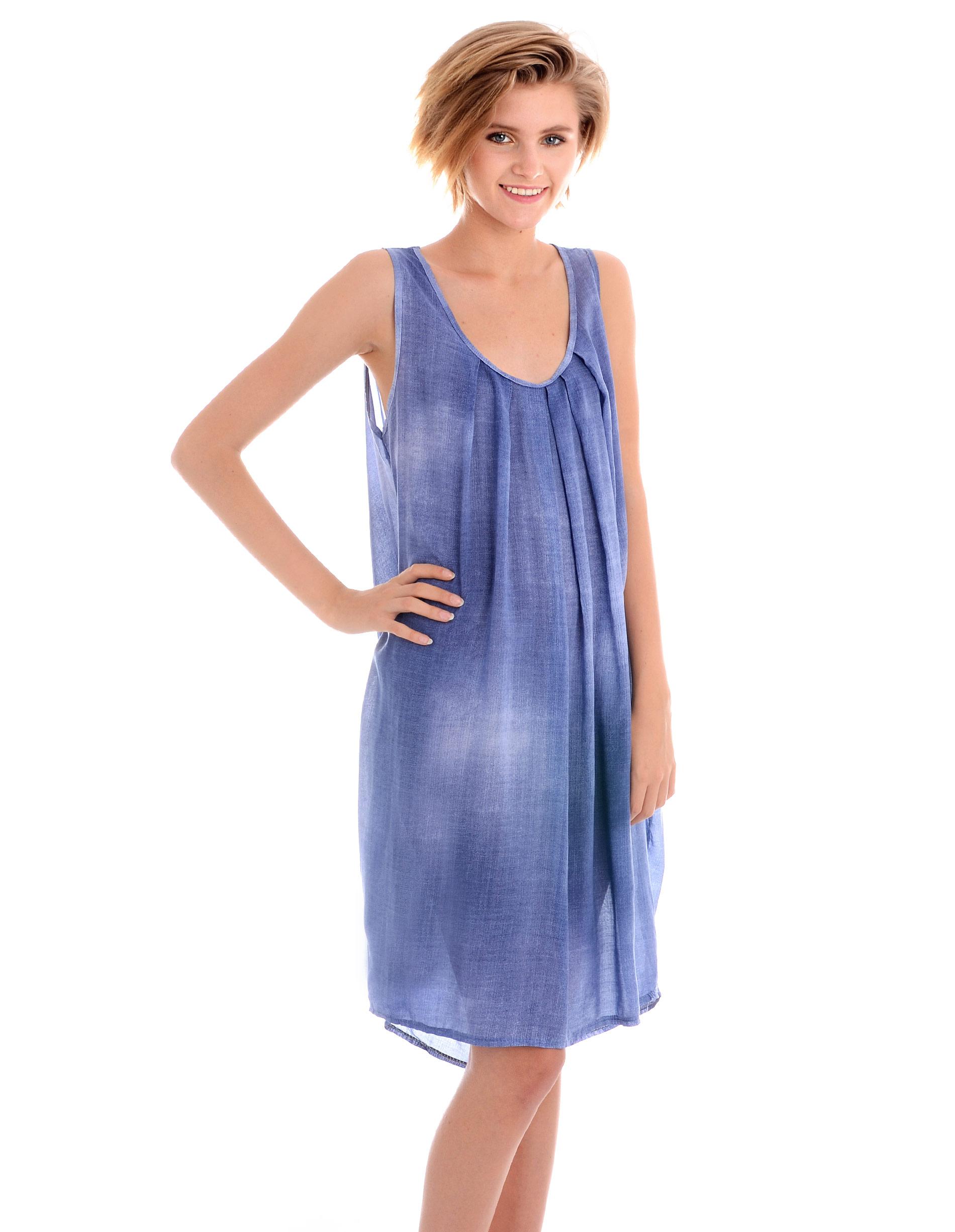 Sukienka - 45-364 JEANS - Unisono
