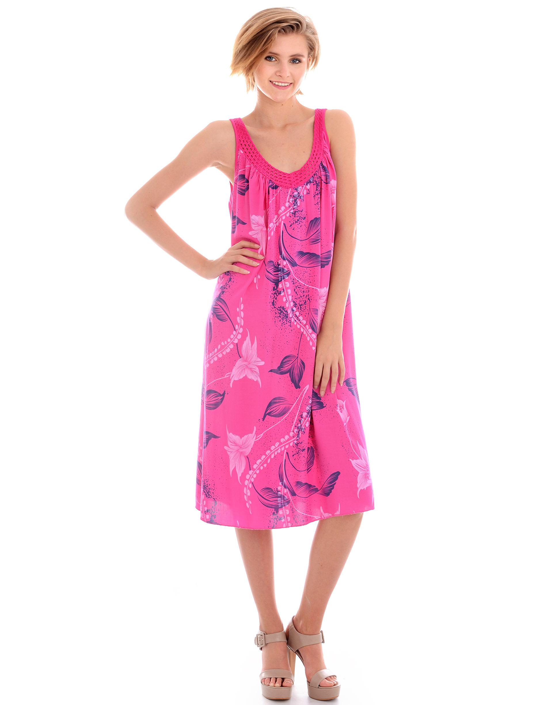 Sukienka - 45-368 FUXIA - Unisono