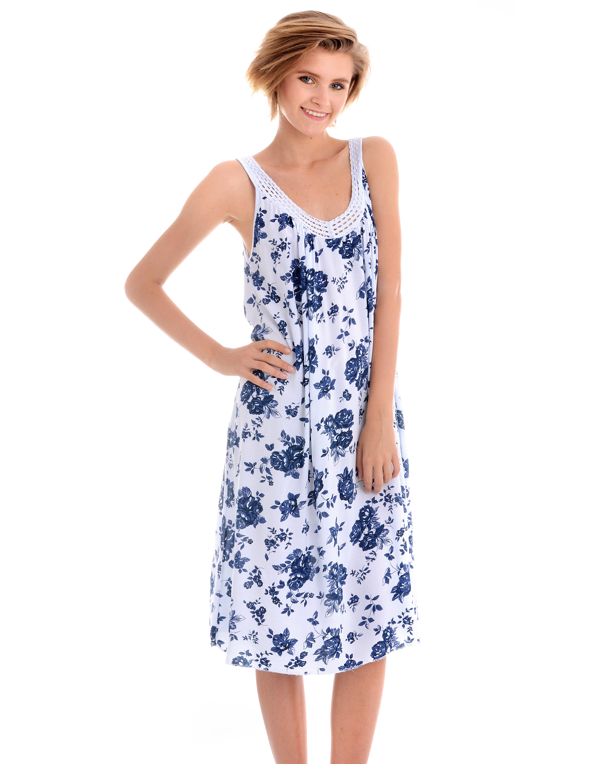 Sukienka - 45-369 BIANCO - Unisono