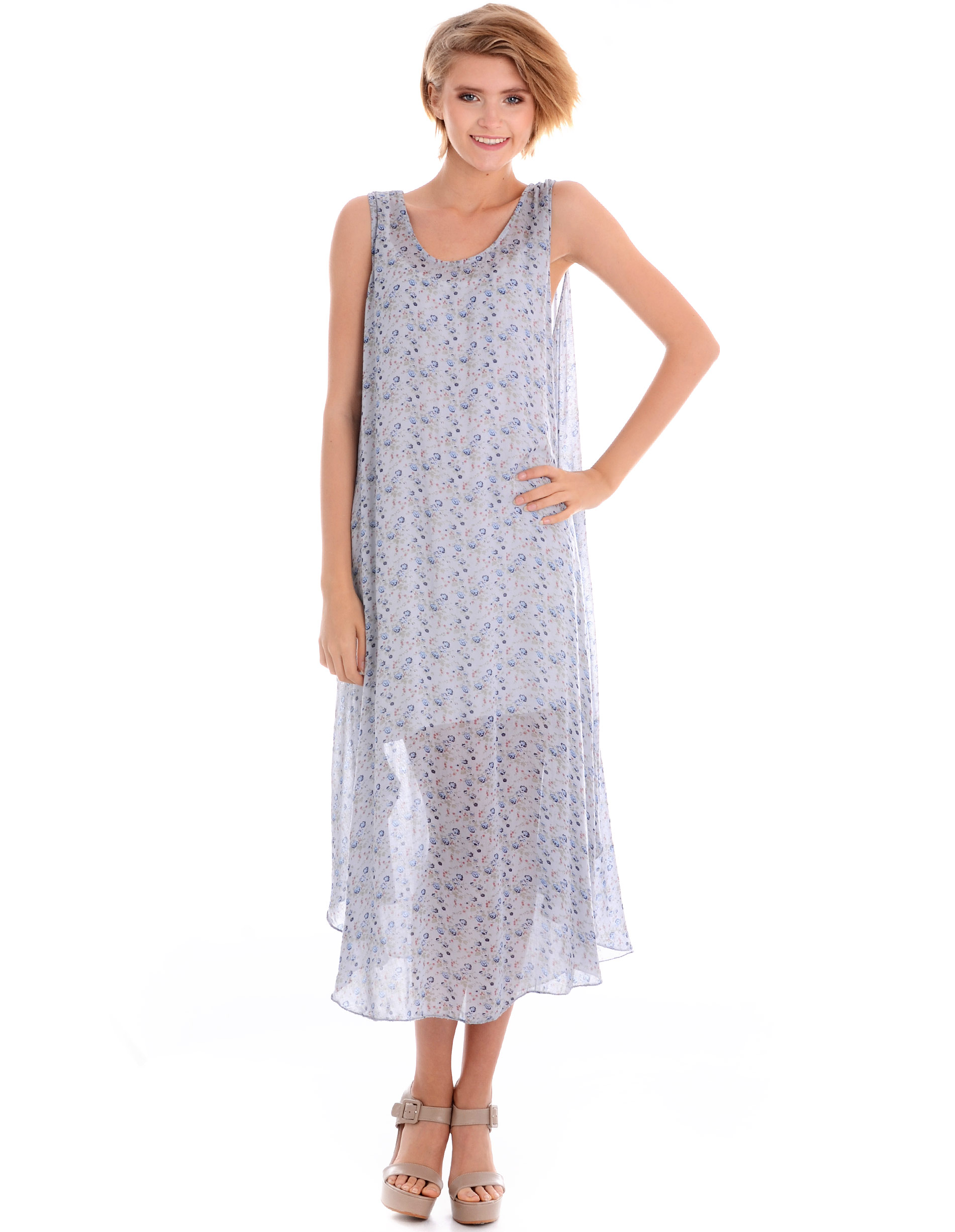 Sukienka - 32-1519Y GRCH - Unisono