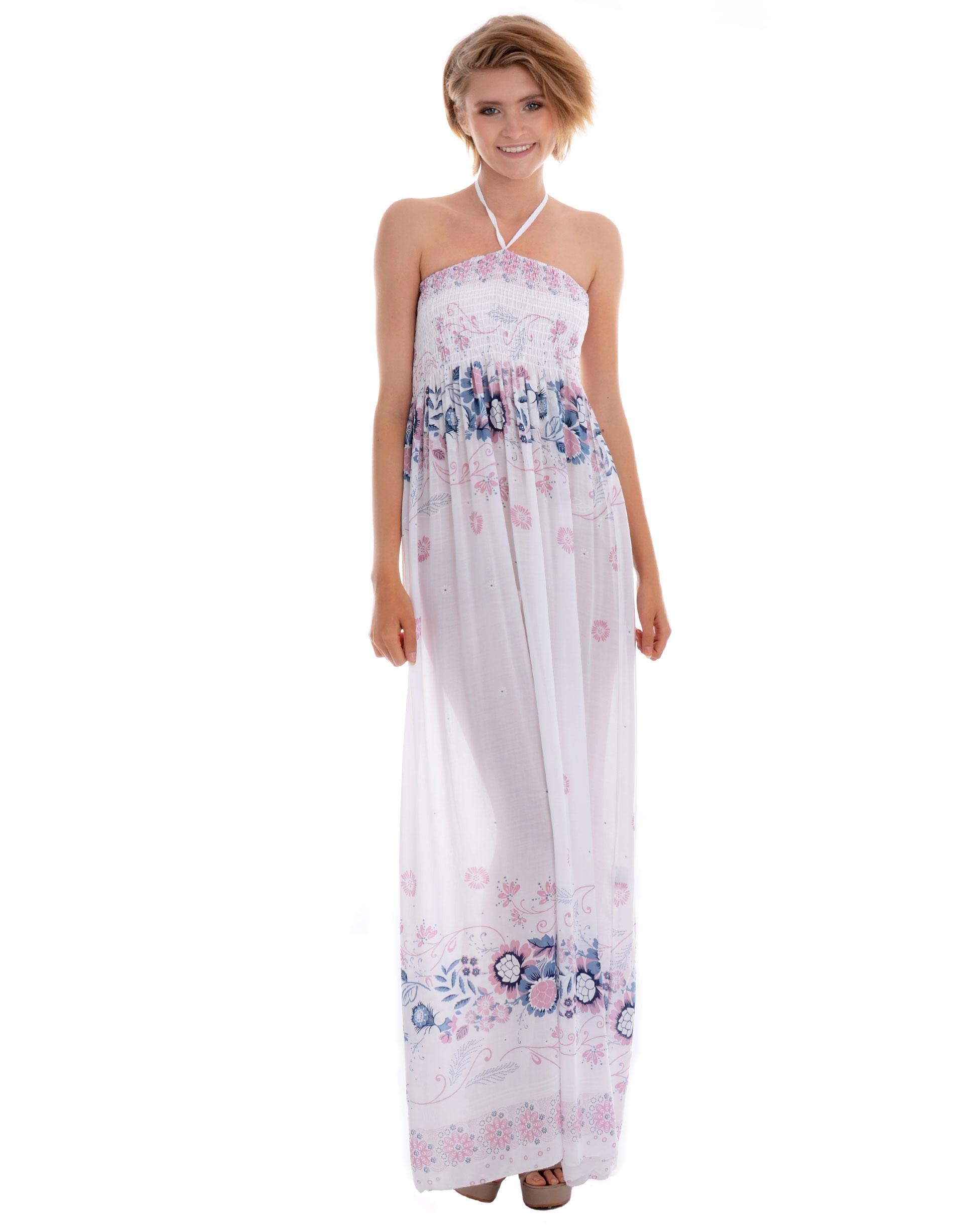 Sukienka - 20-8125D BIAN - Unisono