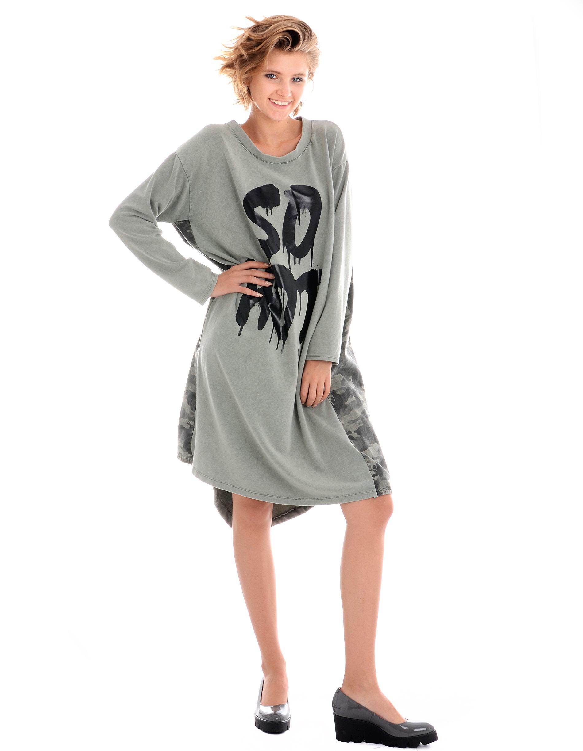 Sukienka - 4-8016 MILITA - Unisono