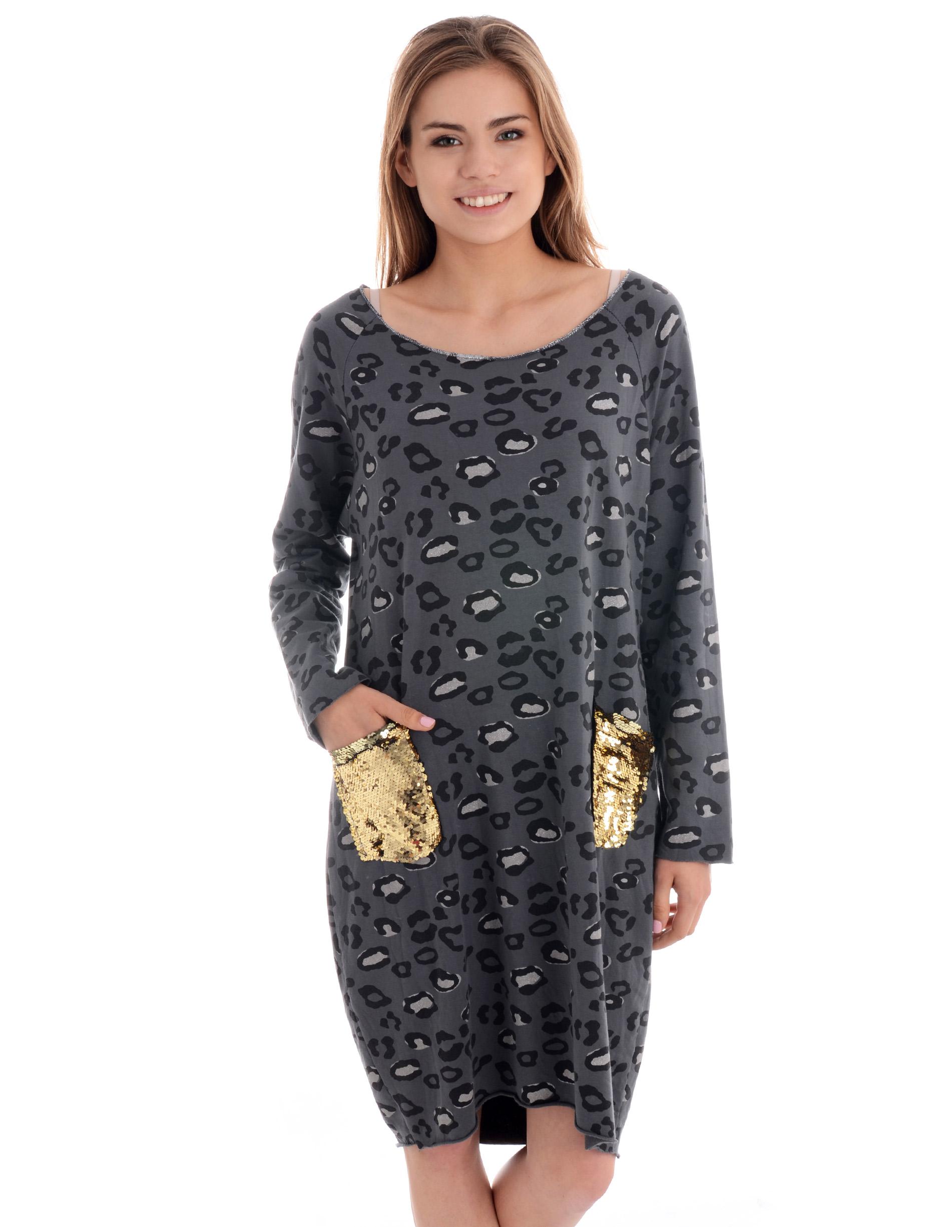 Sukienka - 137-3019 GRIG - Unisono