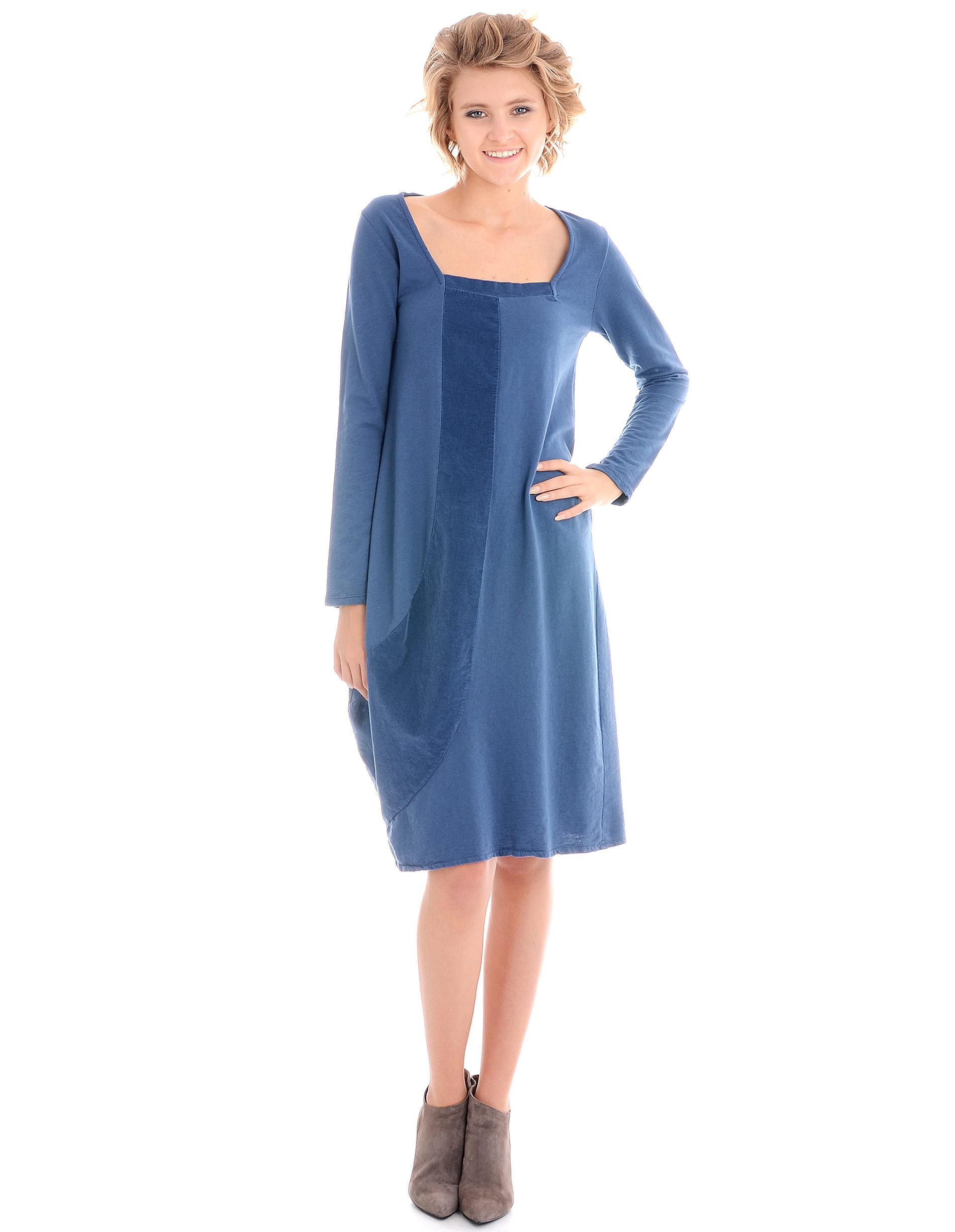 Sukienka - 34-2046 JEANS - Unisono