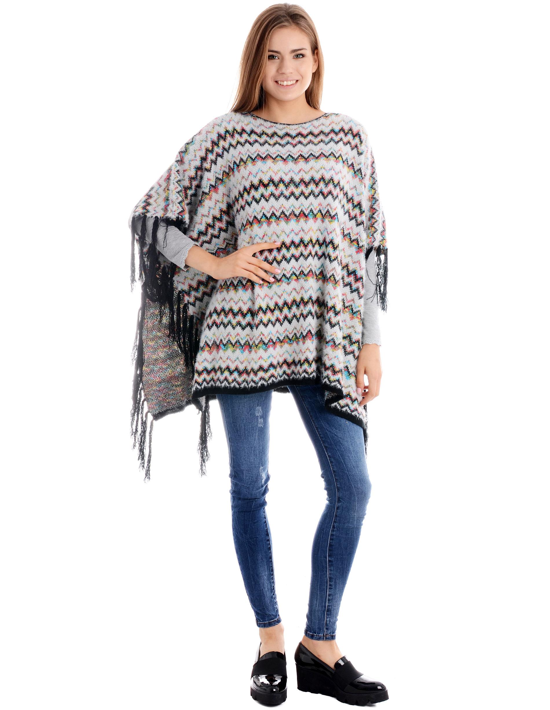 Sweter - 78-2857 BI-NE - Unisono