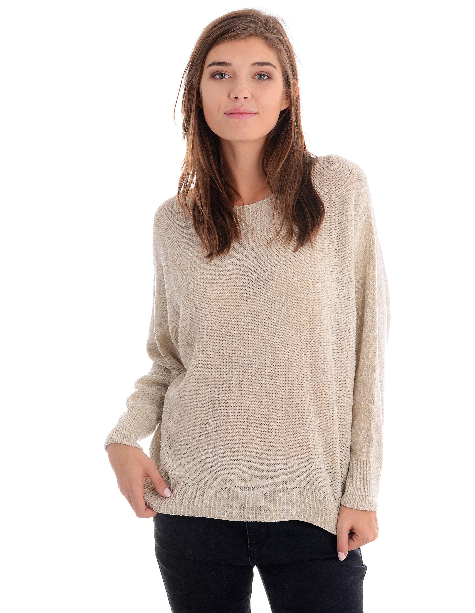 Sweter - 153-003 BEIGE - Unisono
