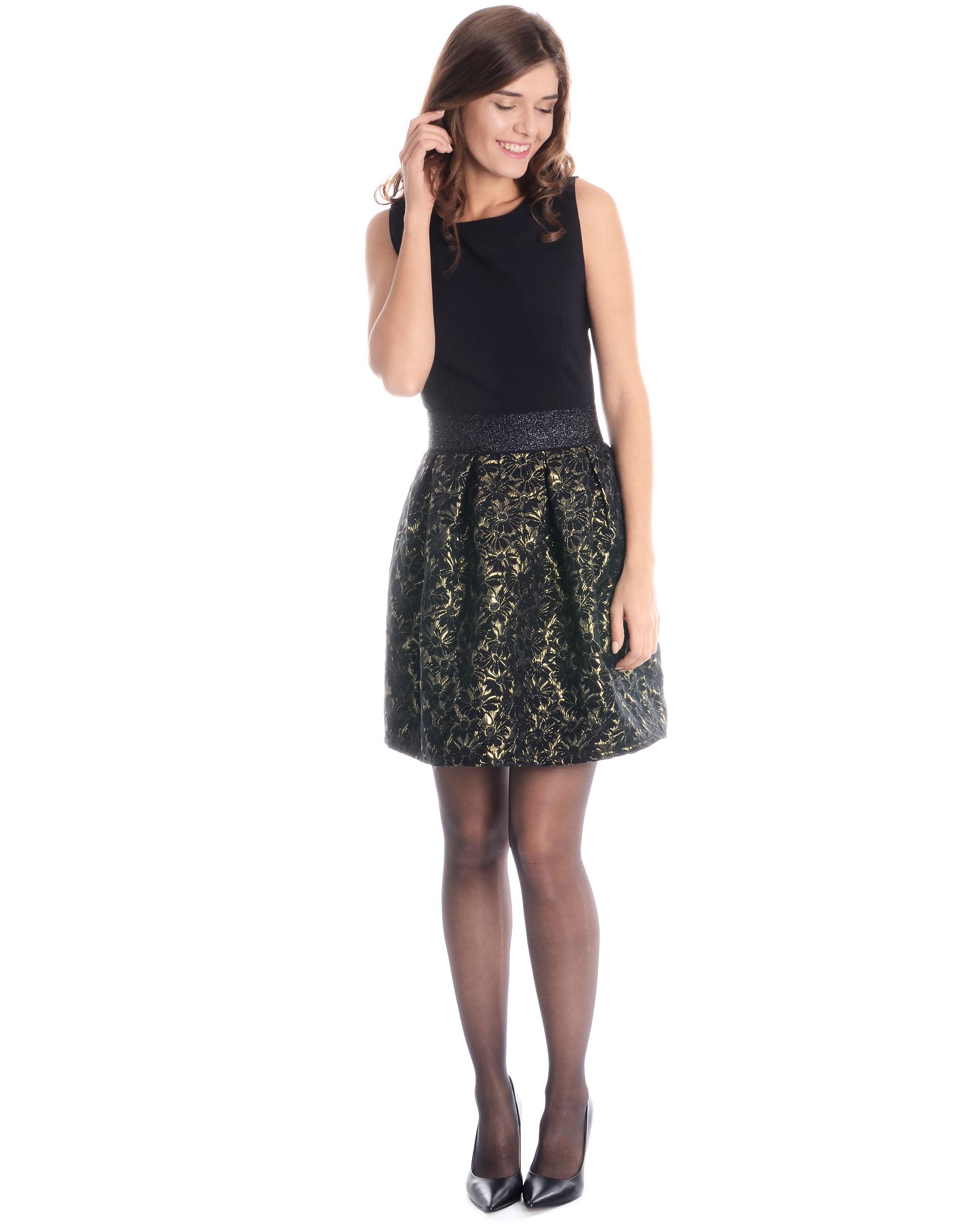 Sukienka - 46-2828 NERO - Unisono