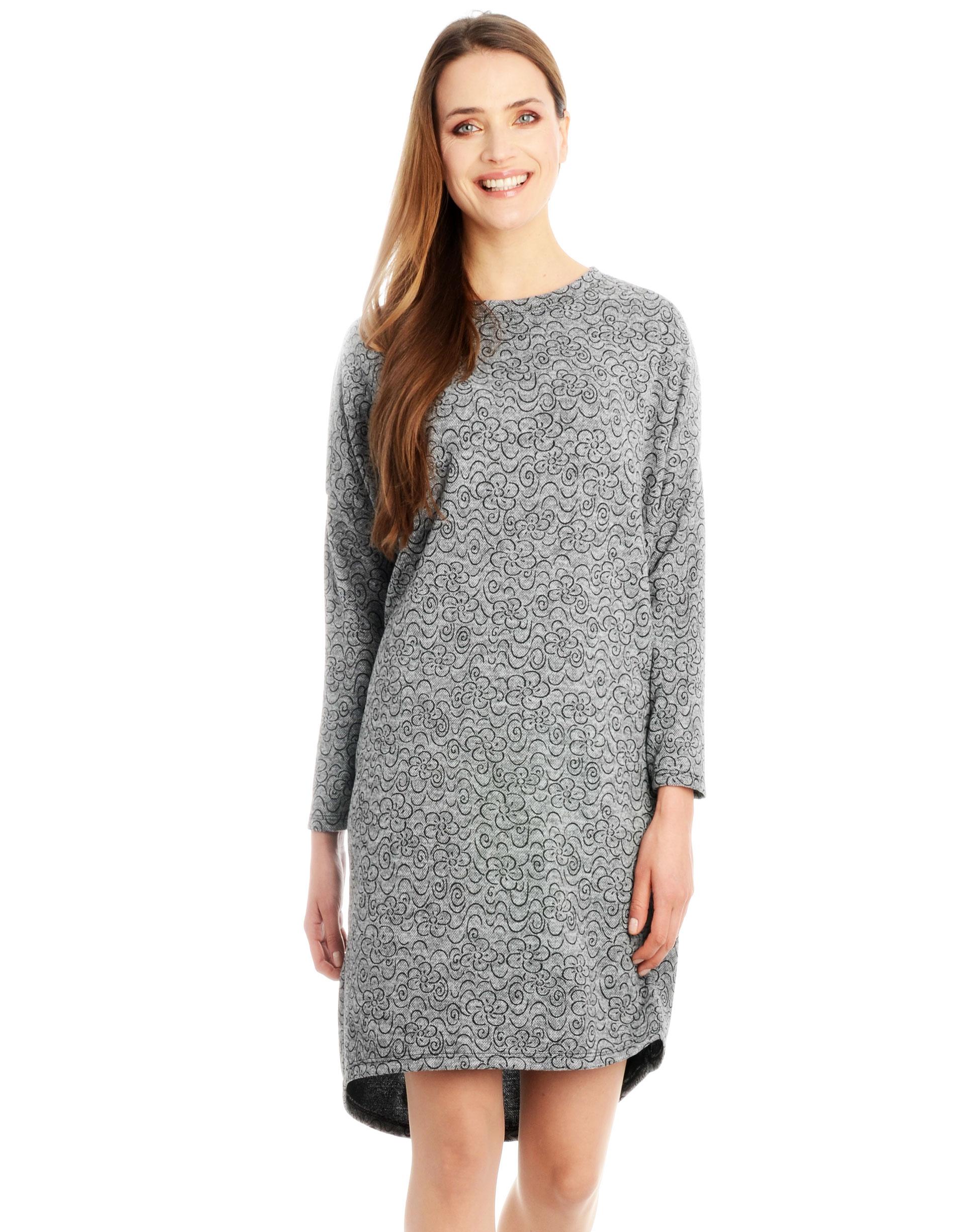 Sukienka - 63-8665F GRCH - Unisono