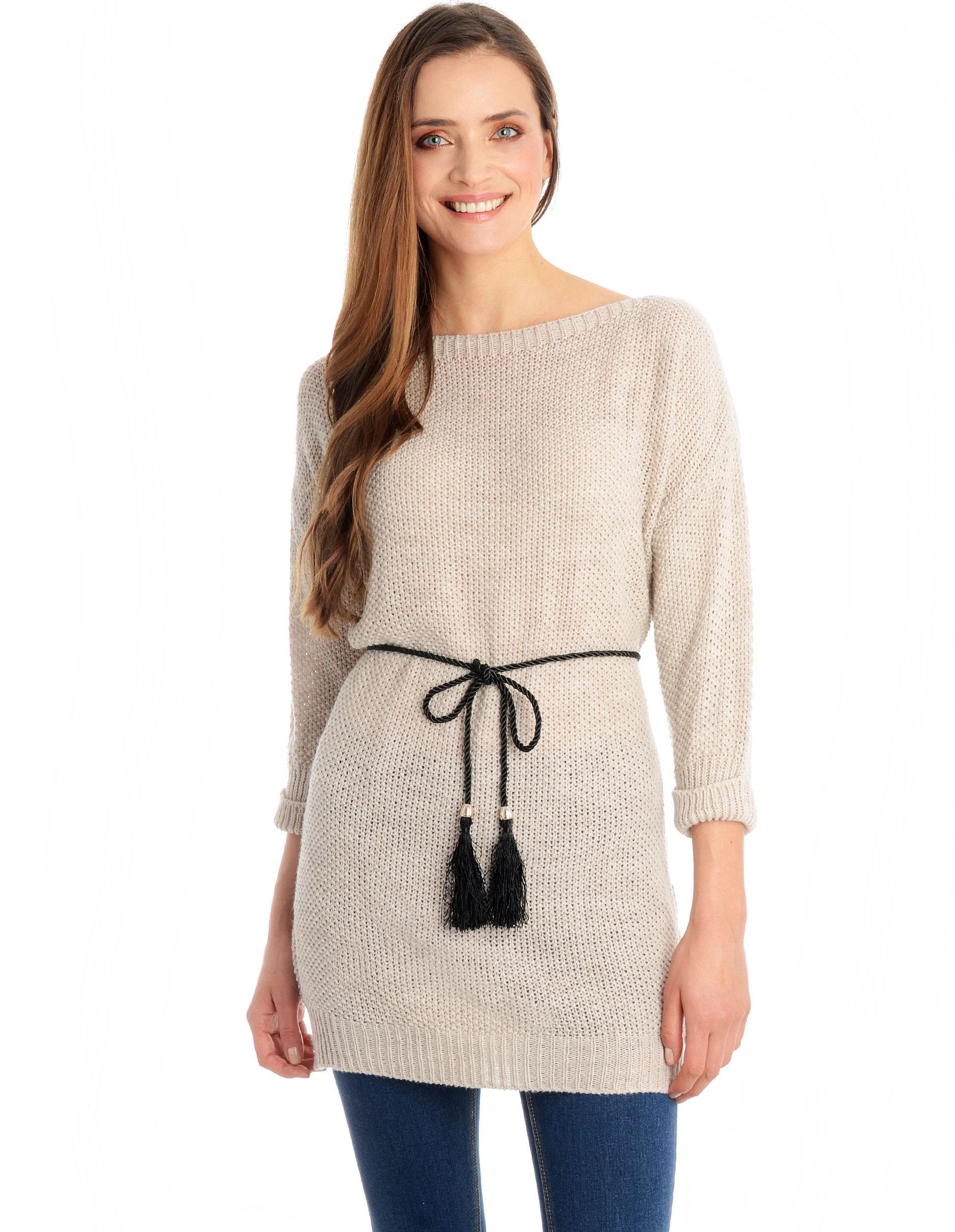Sweter - 4-5013 BEI CH - Unisono