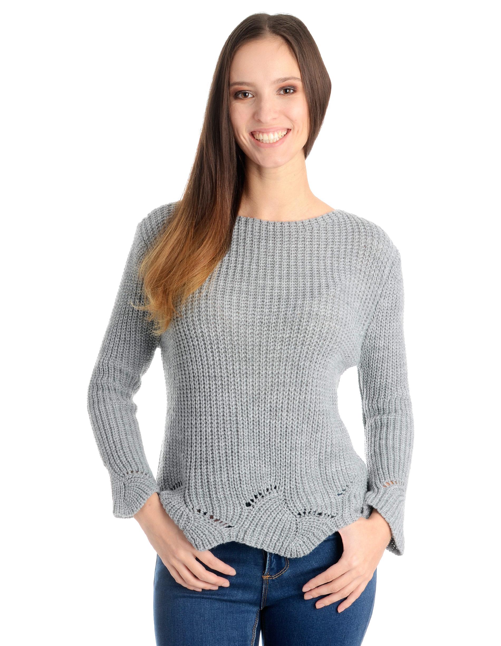 Sweter - 4-5372 GRI CH - Unisono