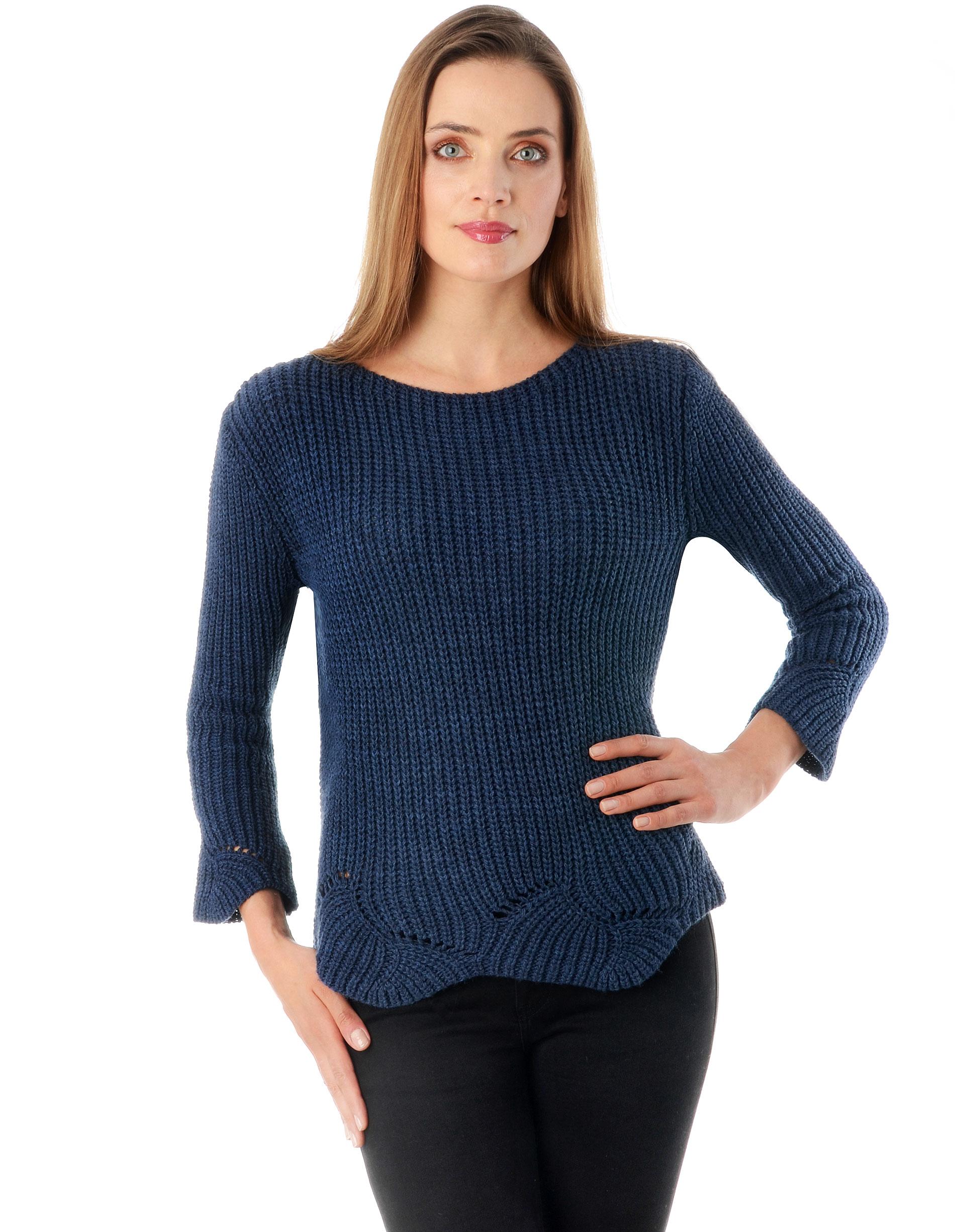 Sweter - 4-5372 JEANS - Unisono