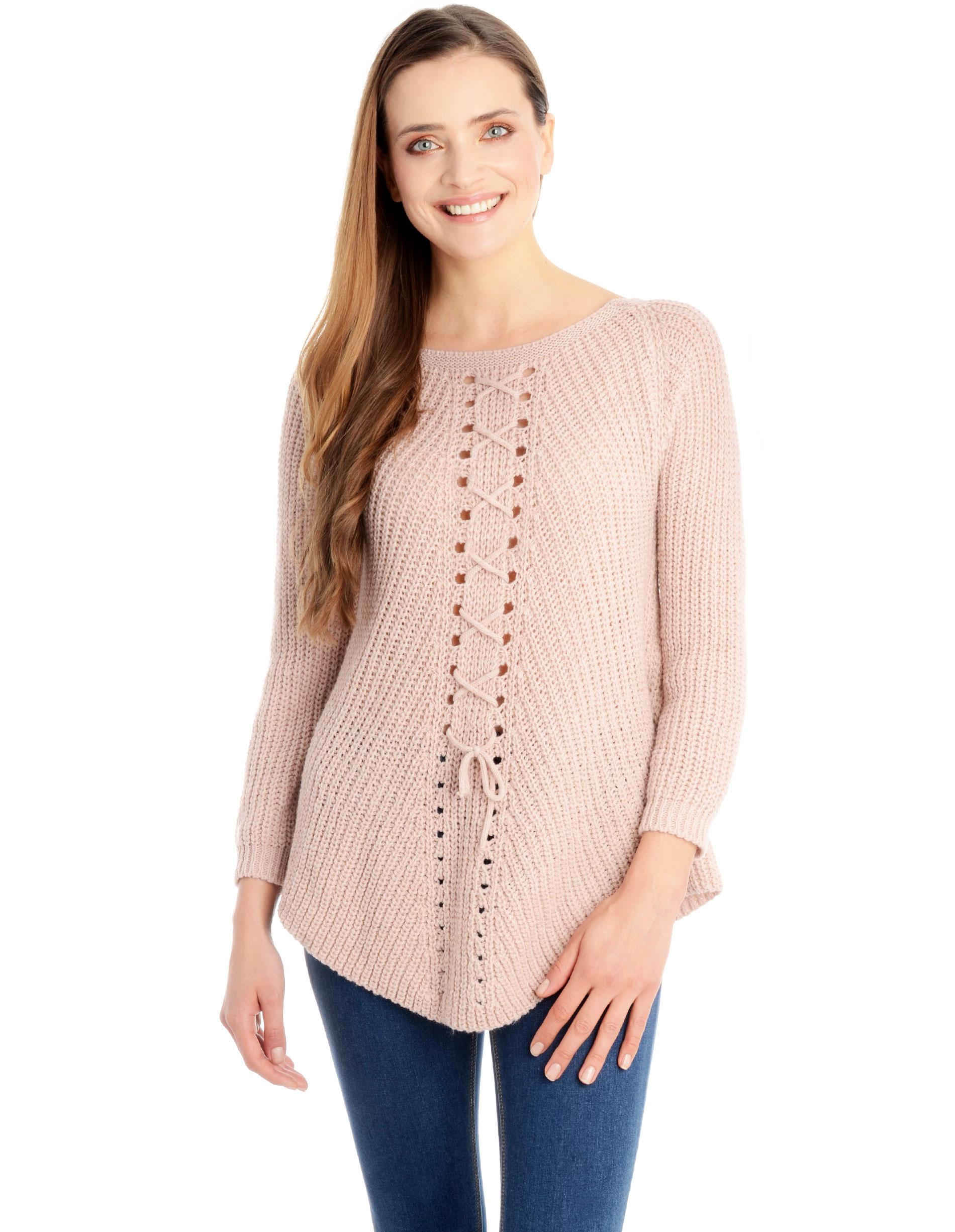 Sweter - 4-5376 ROSA - Unisono