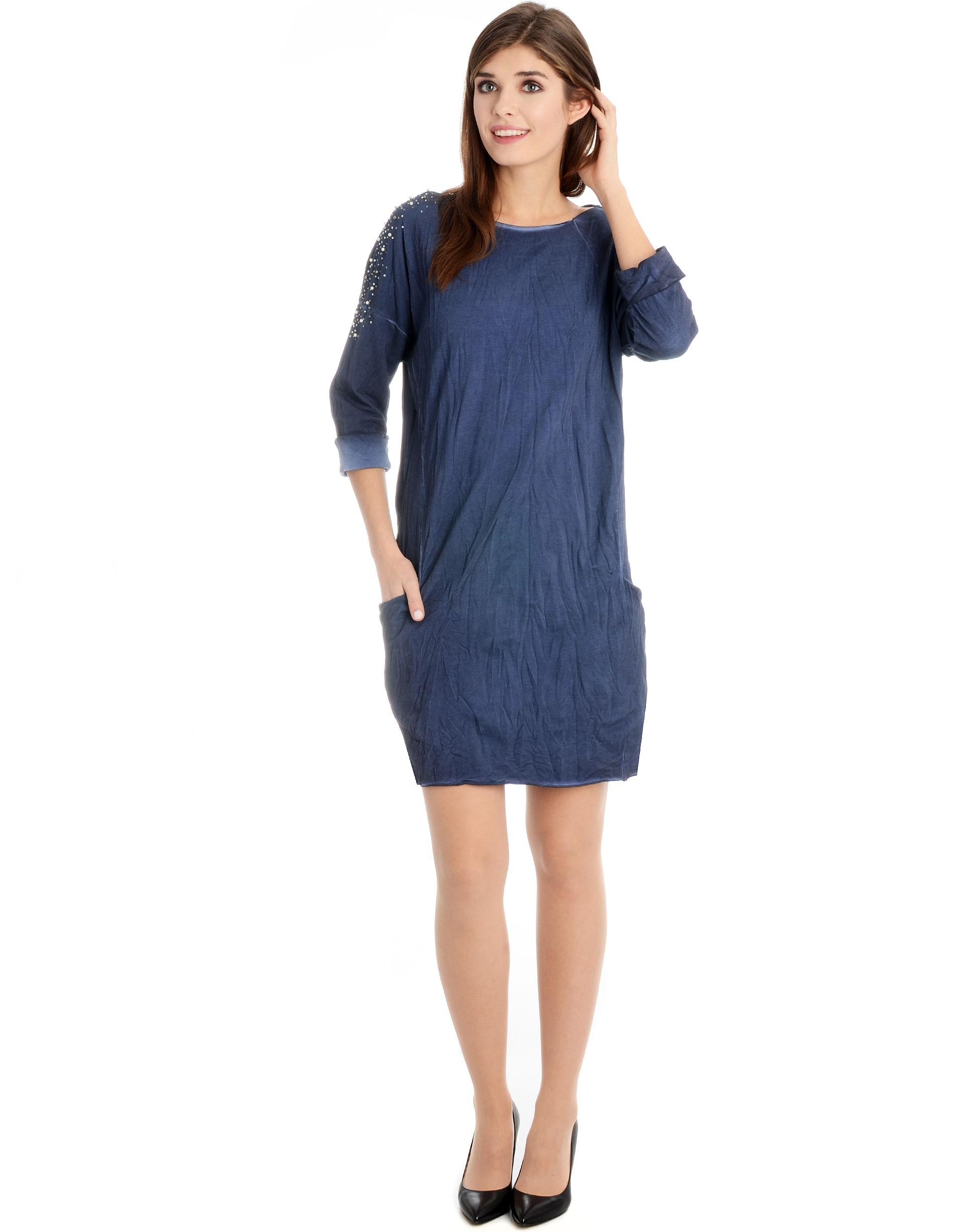 Sukienka - 137-3238 BLSC - Unisono