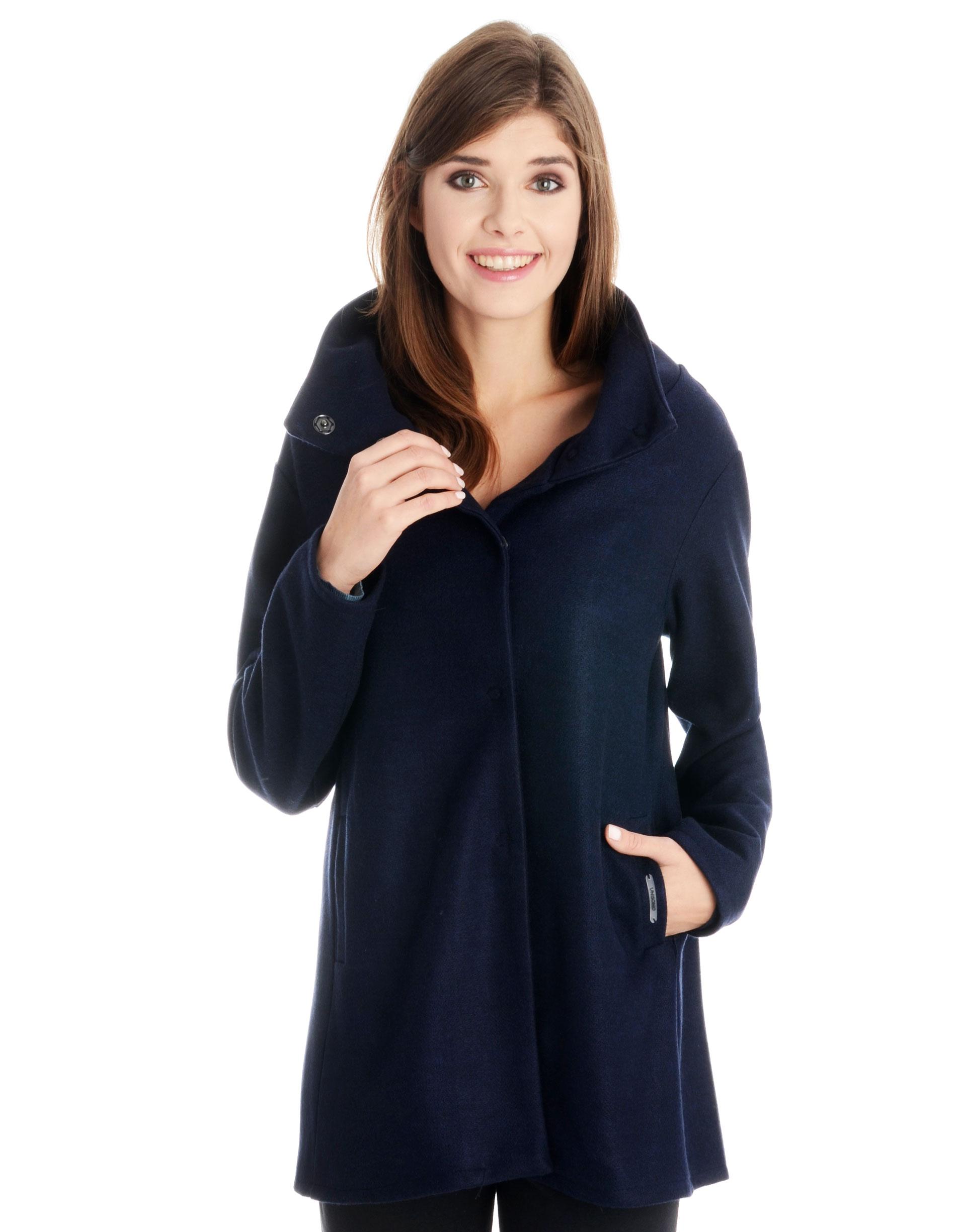 Płaszcz materiałowy - 34-3723 BL SC - Unisono
