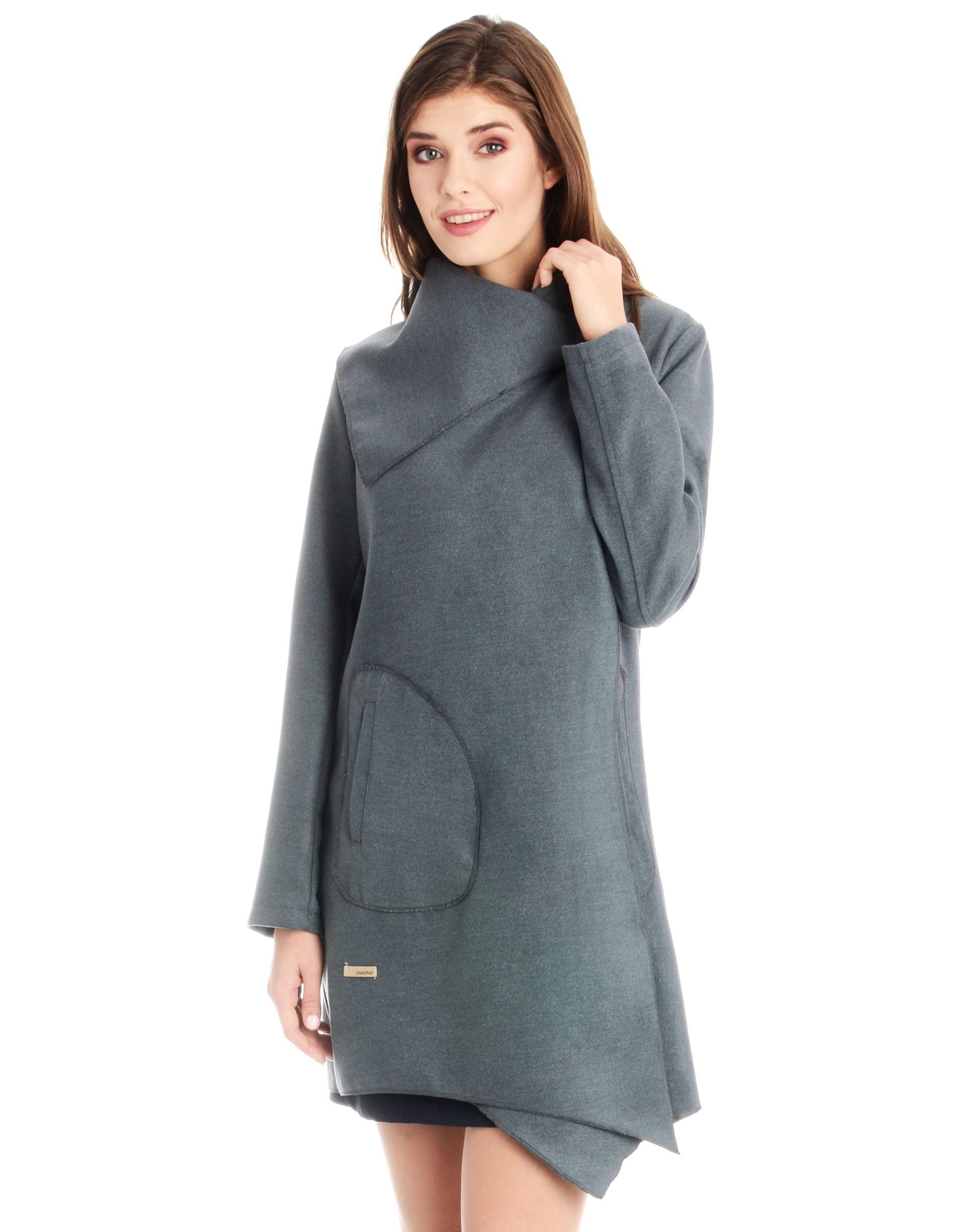 Płaszcz materiałowy - 1-5237 GRIGIO - Unisono