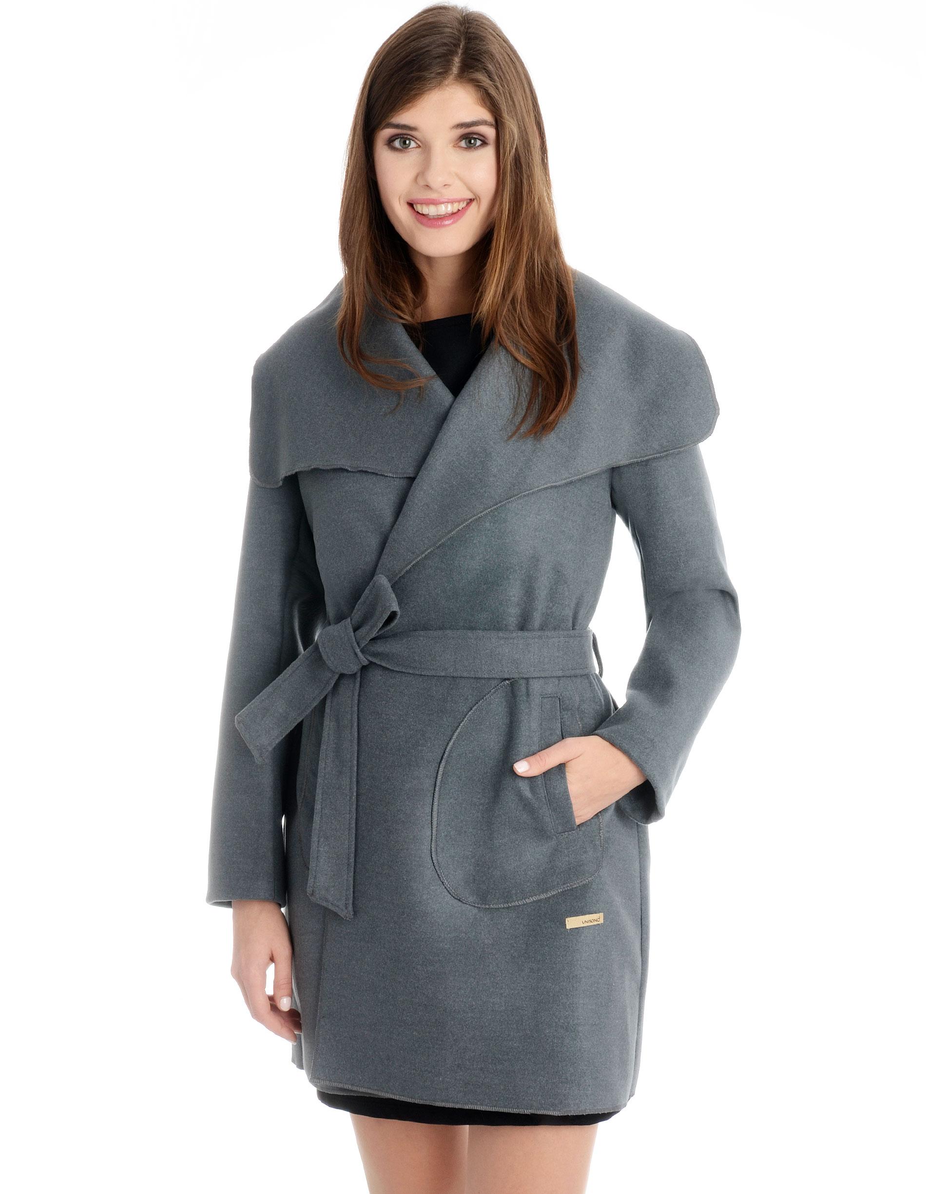 Płaszcz materiałowy - 1-5238 GRIGIO - Unisono