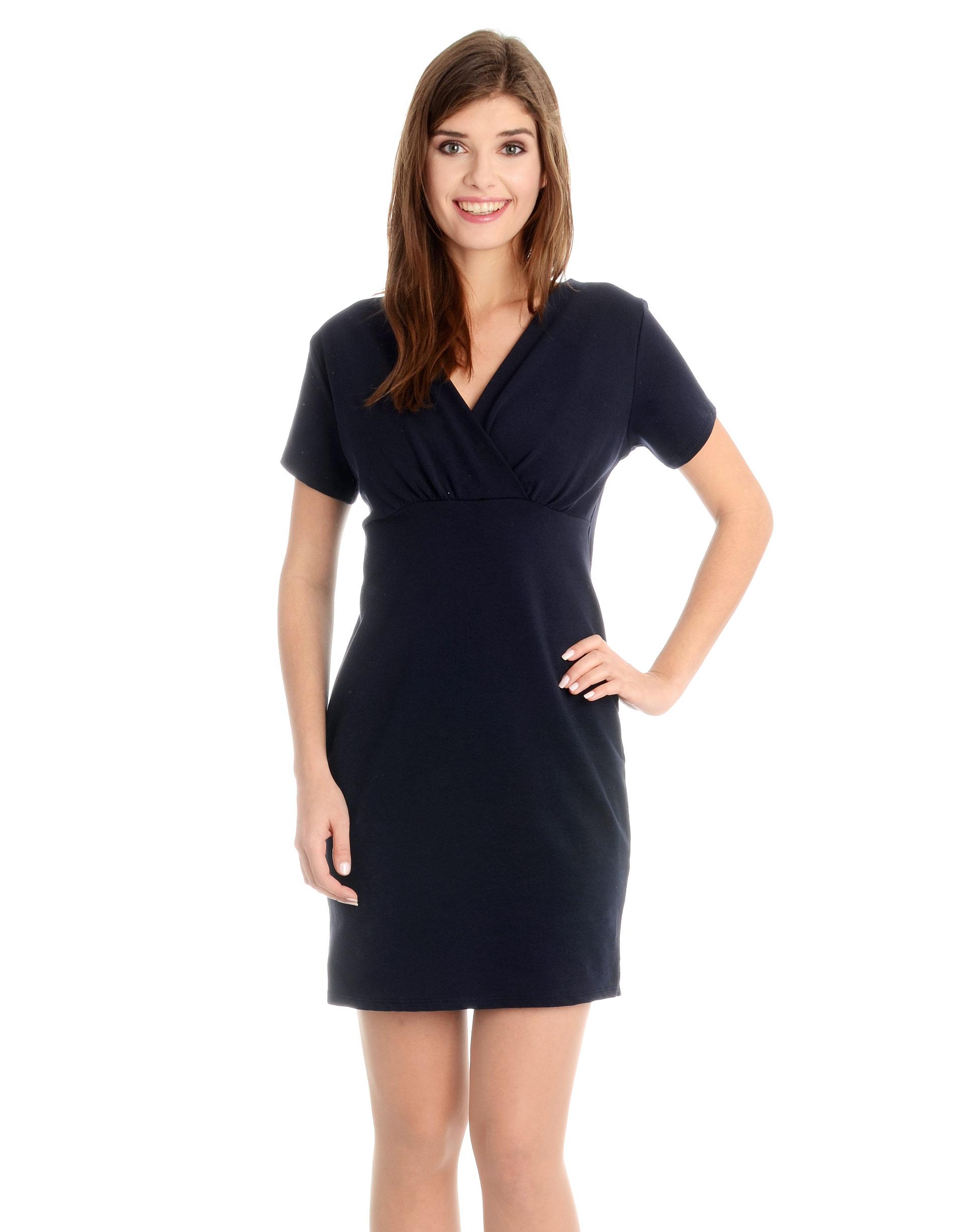 Sukienka - 118-777 BL SC - Unisono