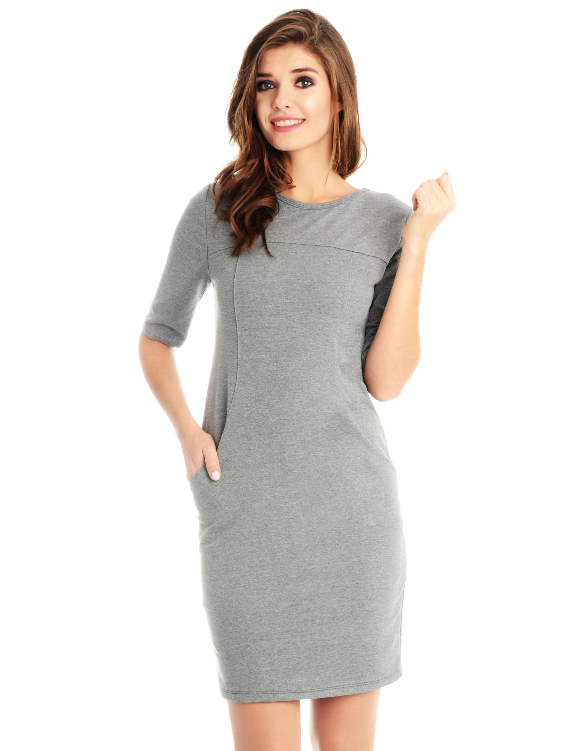 Sukienka - 118-780 GR SC - Unisono