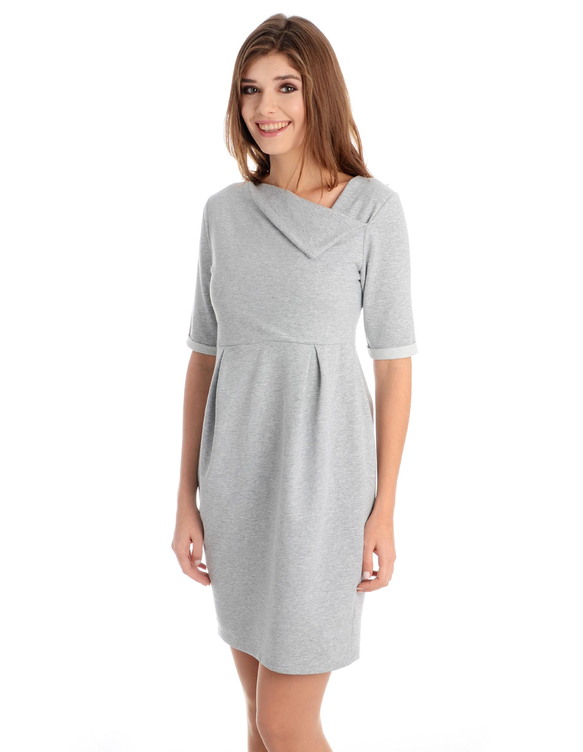 Sukienka - 118-784 GR CH - Unisono