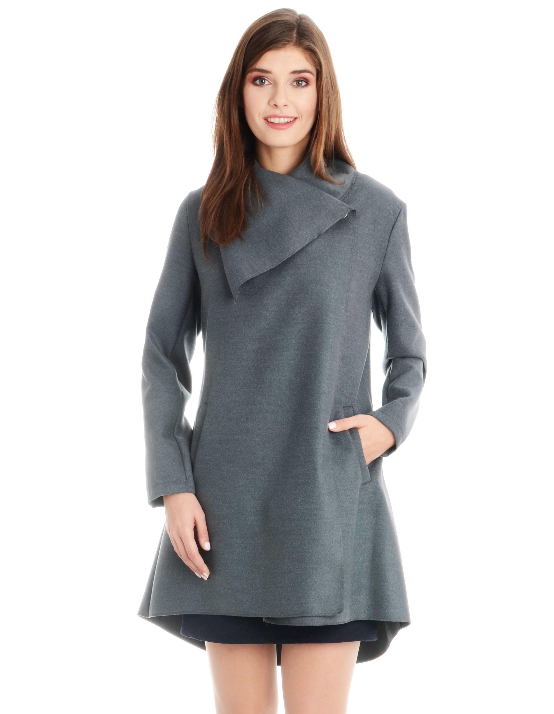 Płaszcz materiałowy - 1-5236 GRIGIO - Unisono
