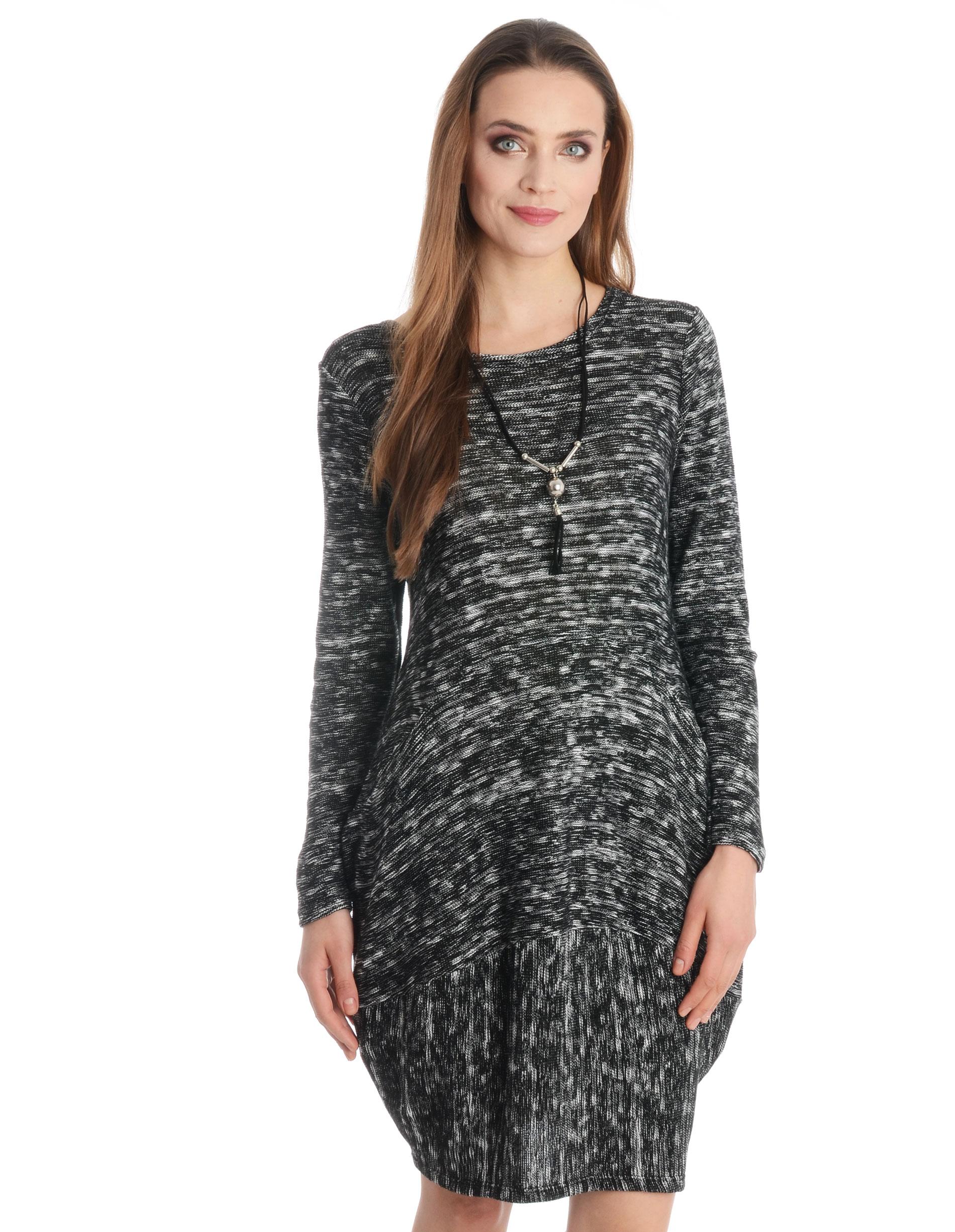 Sukienka - 109-6226A NER - Unisono