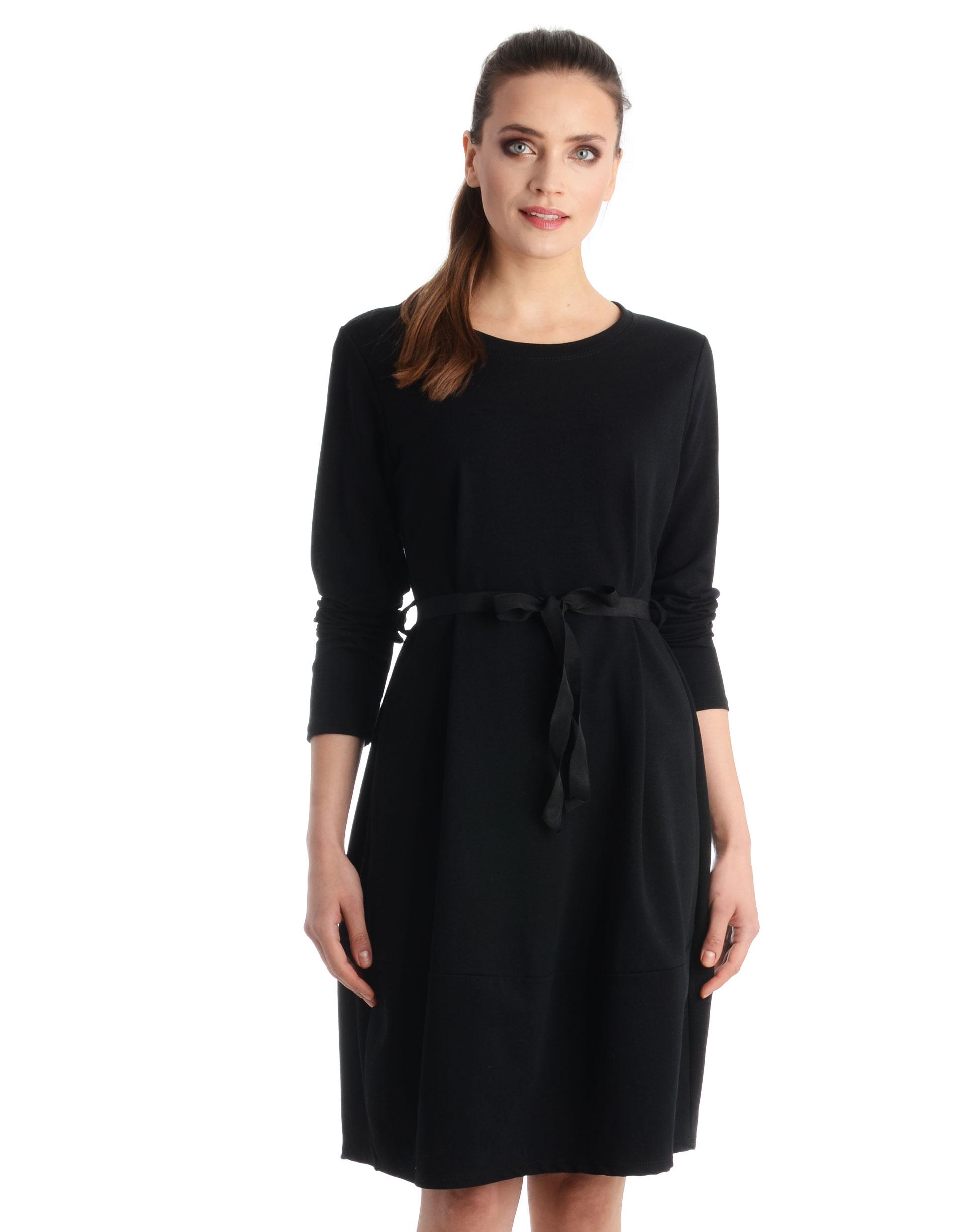 Sukienka - 109-6300 NERO - Unisono