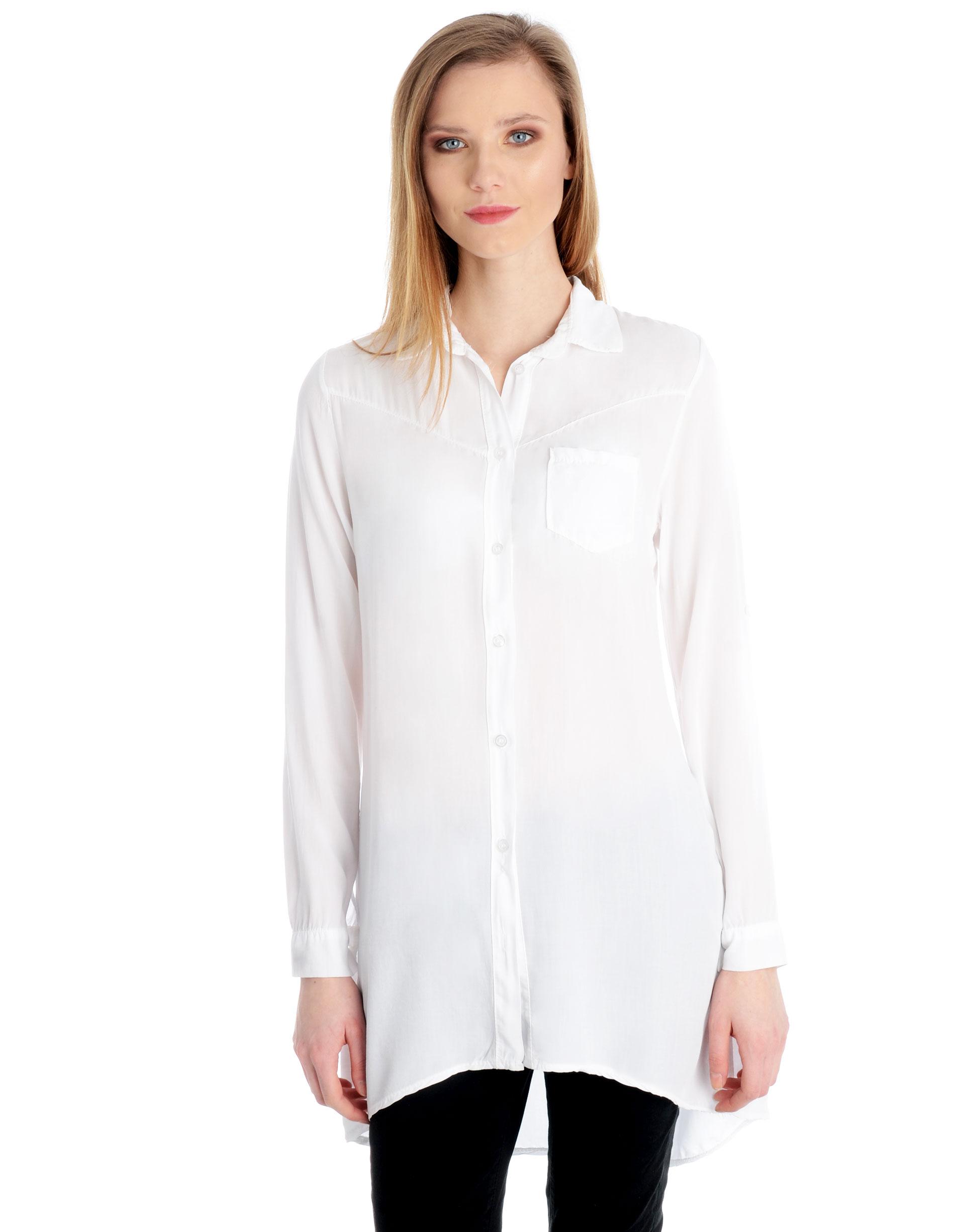 Koszula - 45-518 BIANCO - Unisono