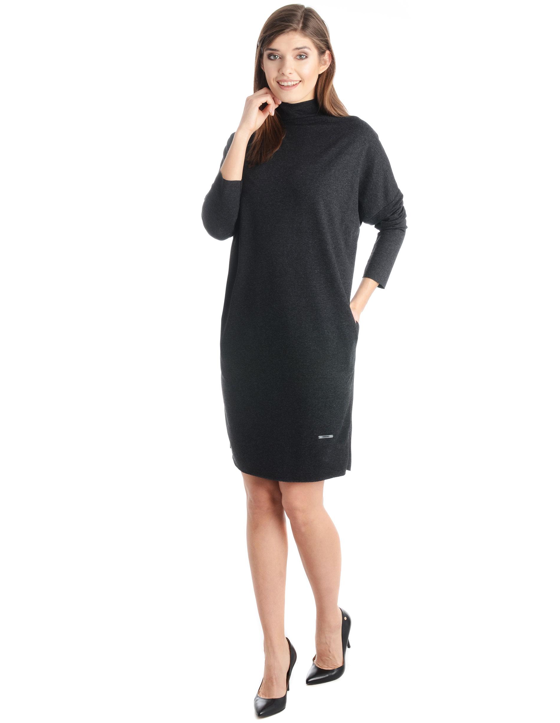 Sukienka - 30-86249 NERO - Unisono