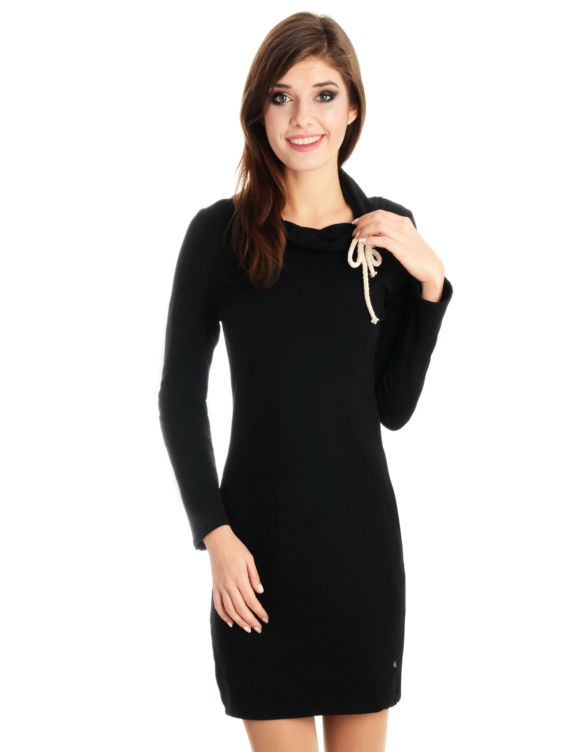 Sukienka - 22-2617 NERO - Unisono