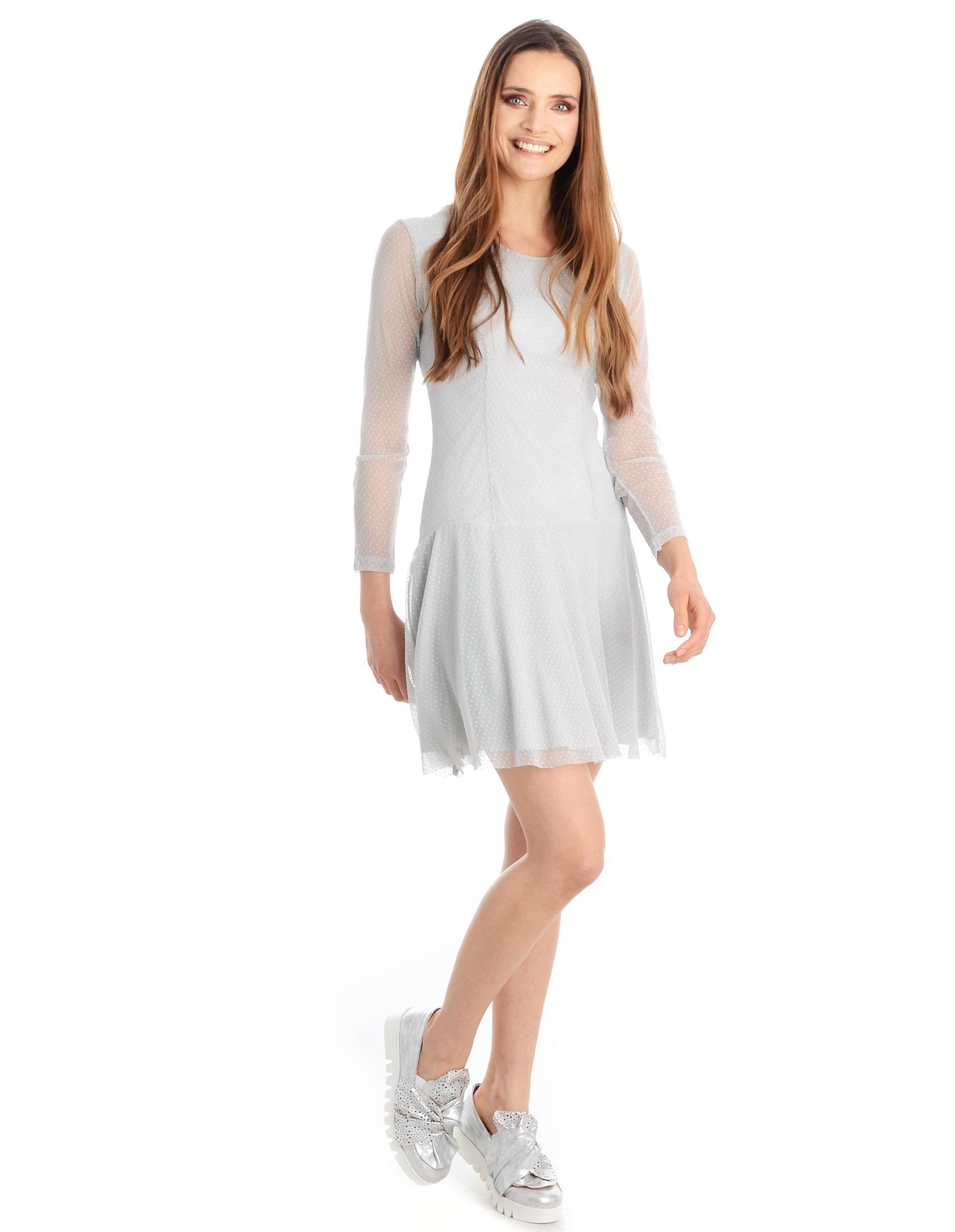 Sukienka - A997 GRIGIO - Unisono