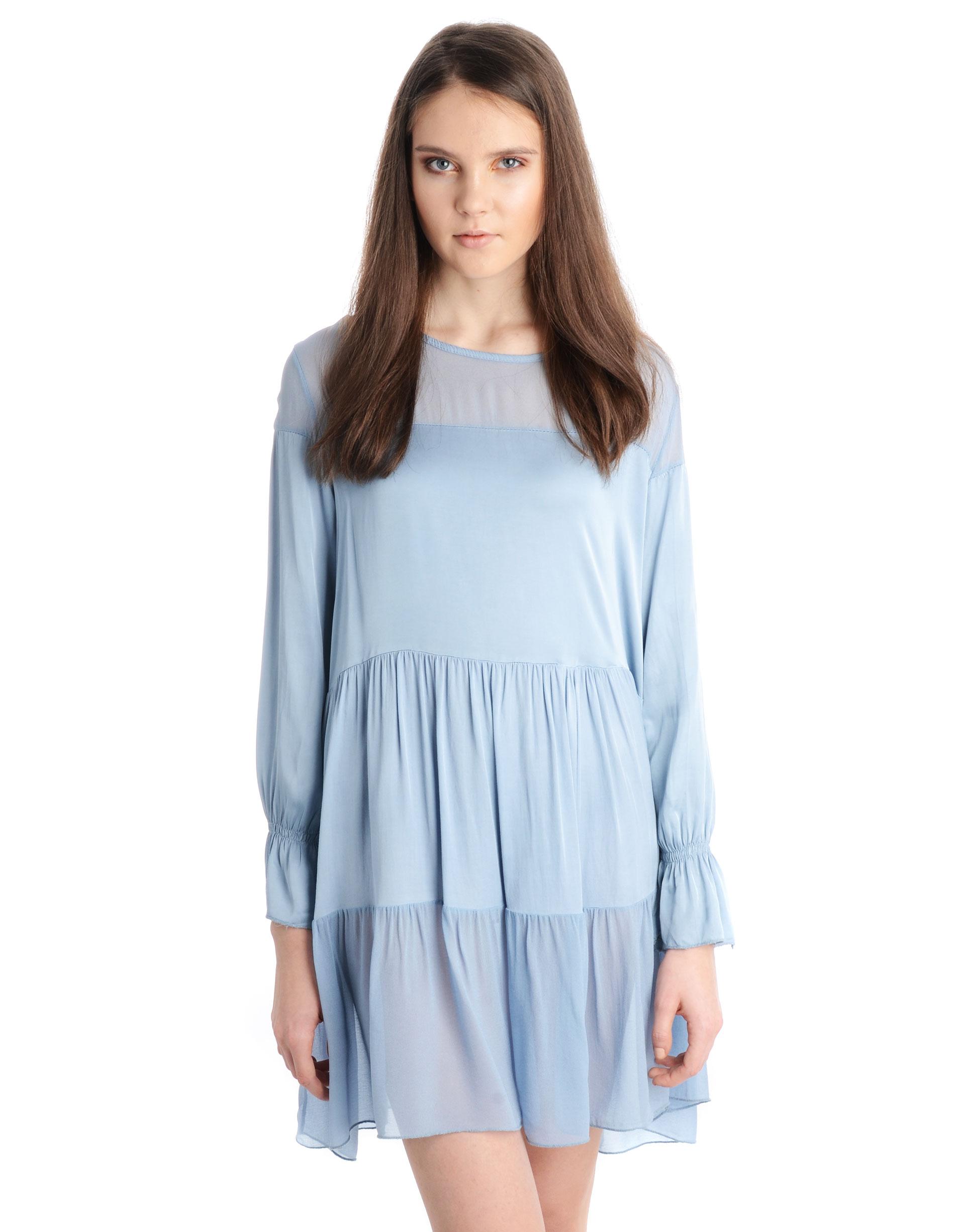 Sukienka - 155-1045 JEAN - Unisono