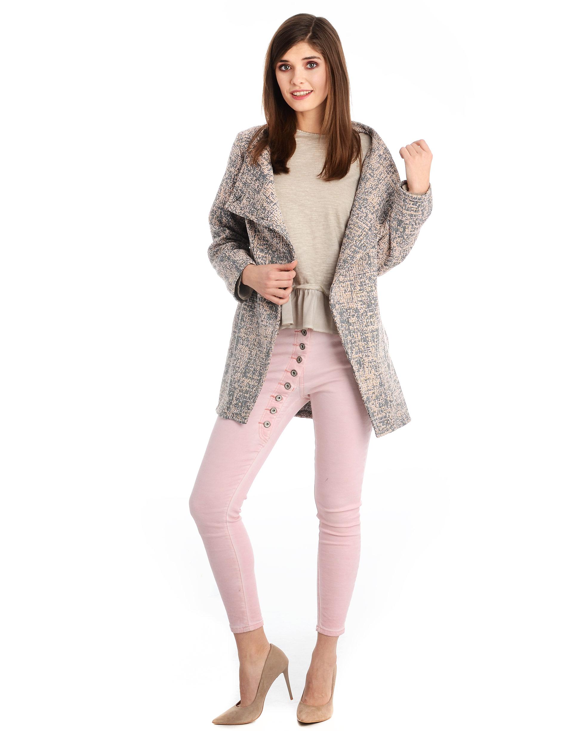 Płaszcz materiałowy - 34-3804 ROSA - Unisono