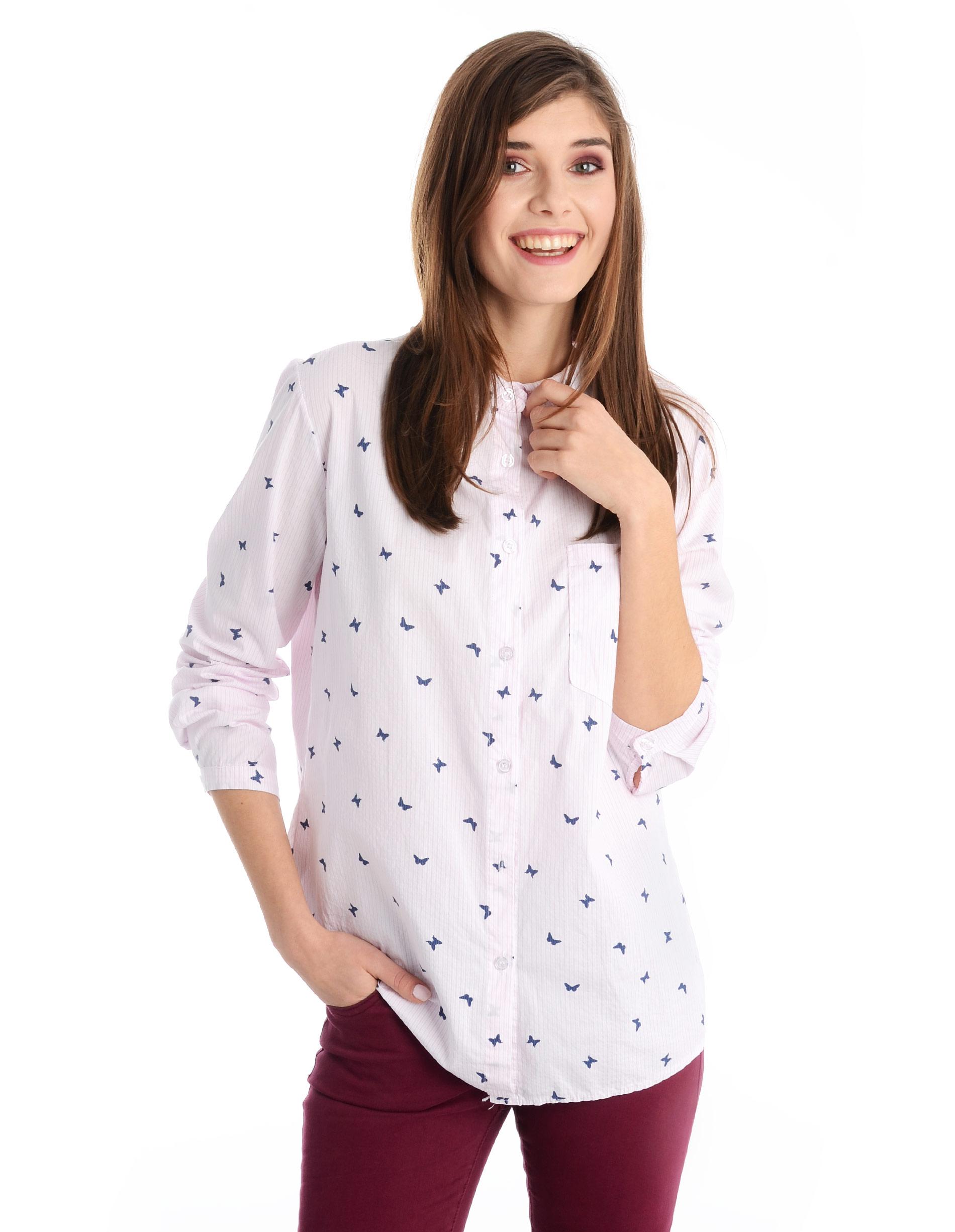 Koszula - 12-215205C RO - Unisono